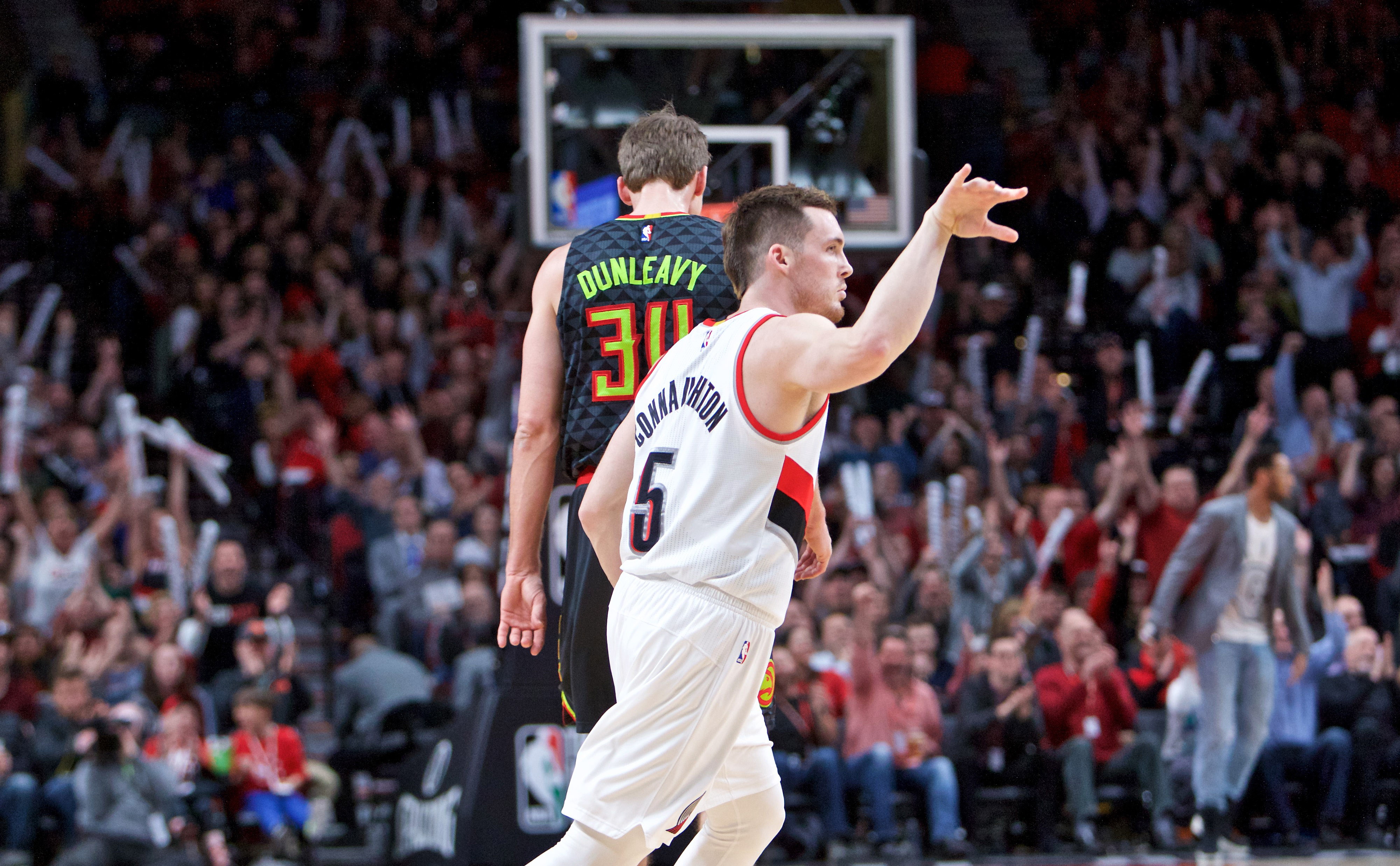 NBA: Atlanta Hawks at Portland Trail Blazers