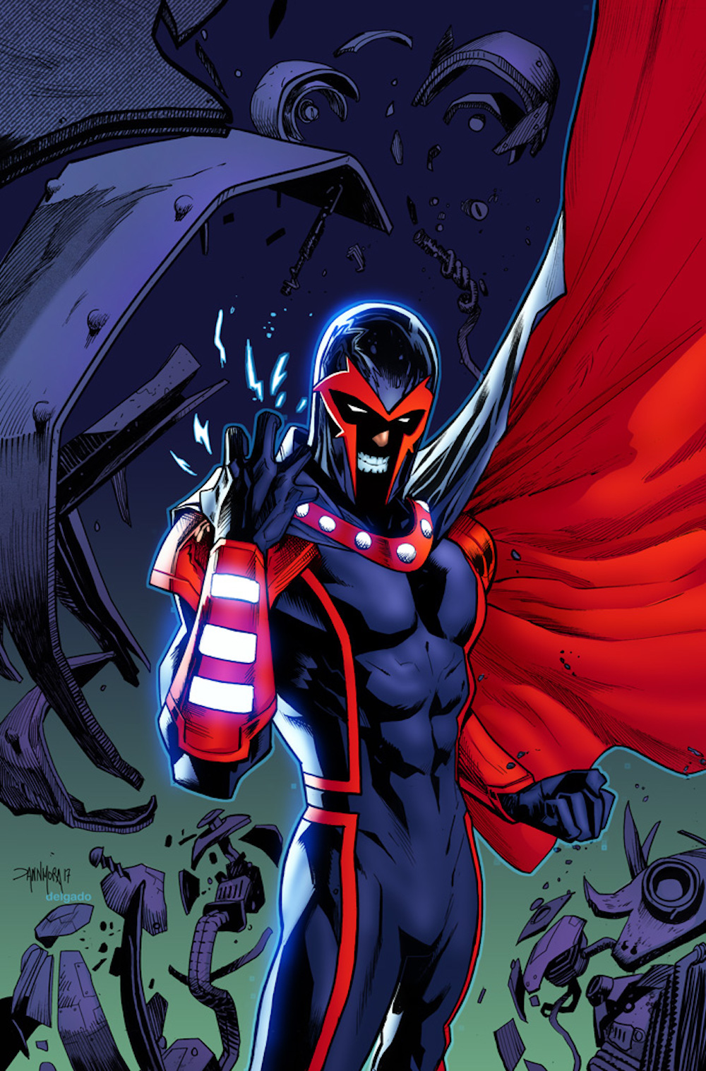 Secret Empire #5 - Magneto variant cover