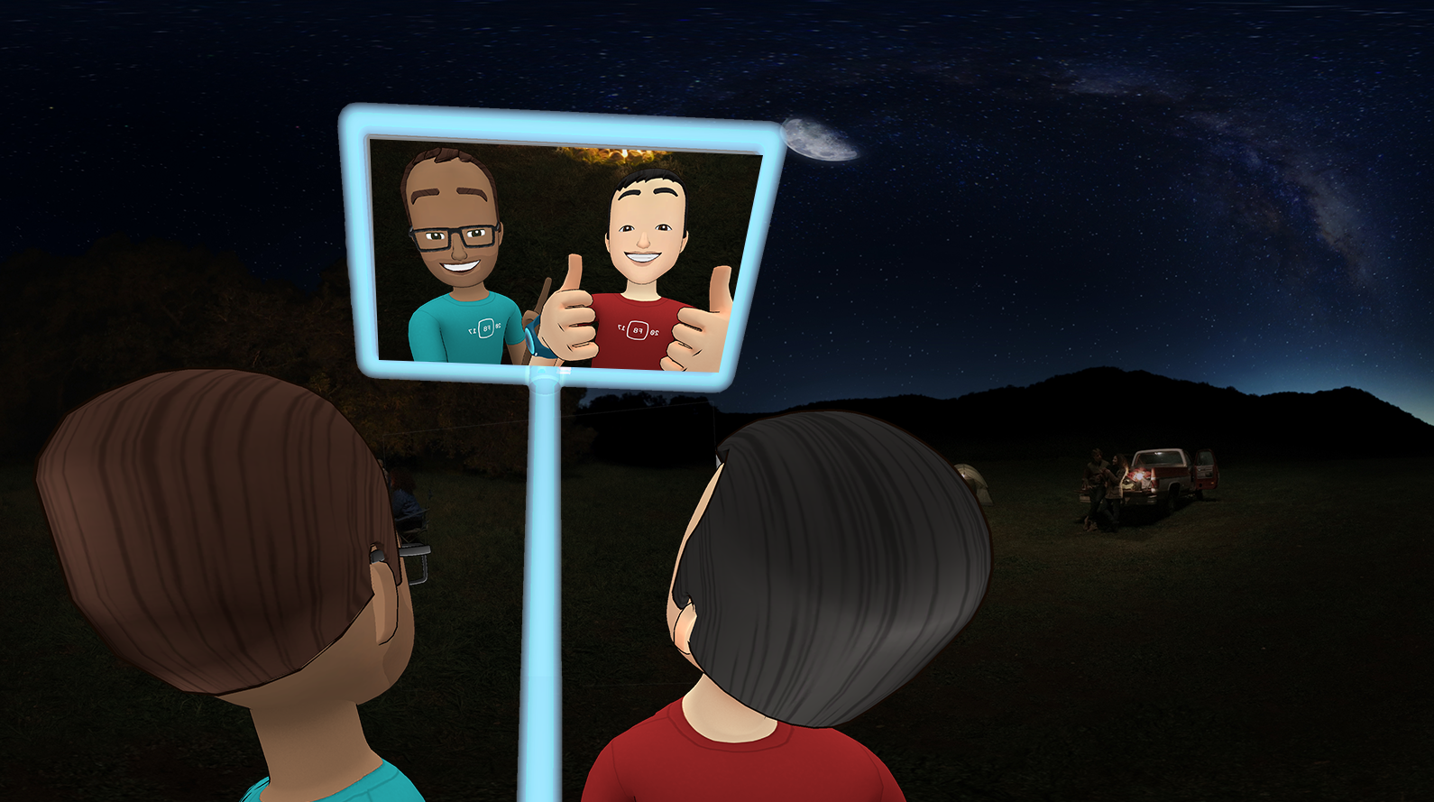 Facebook turns users into cartoon avatars in virtual reality experience