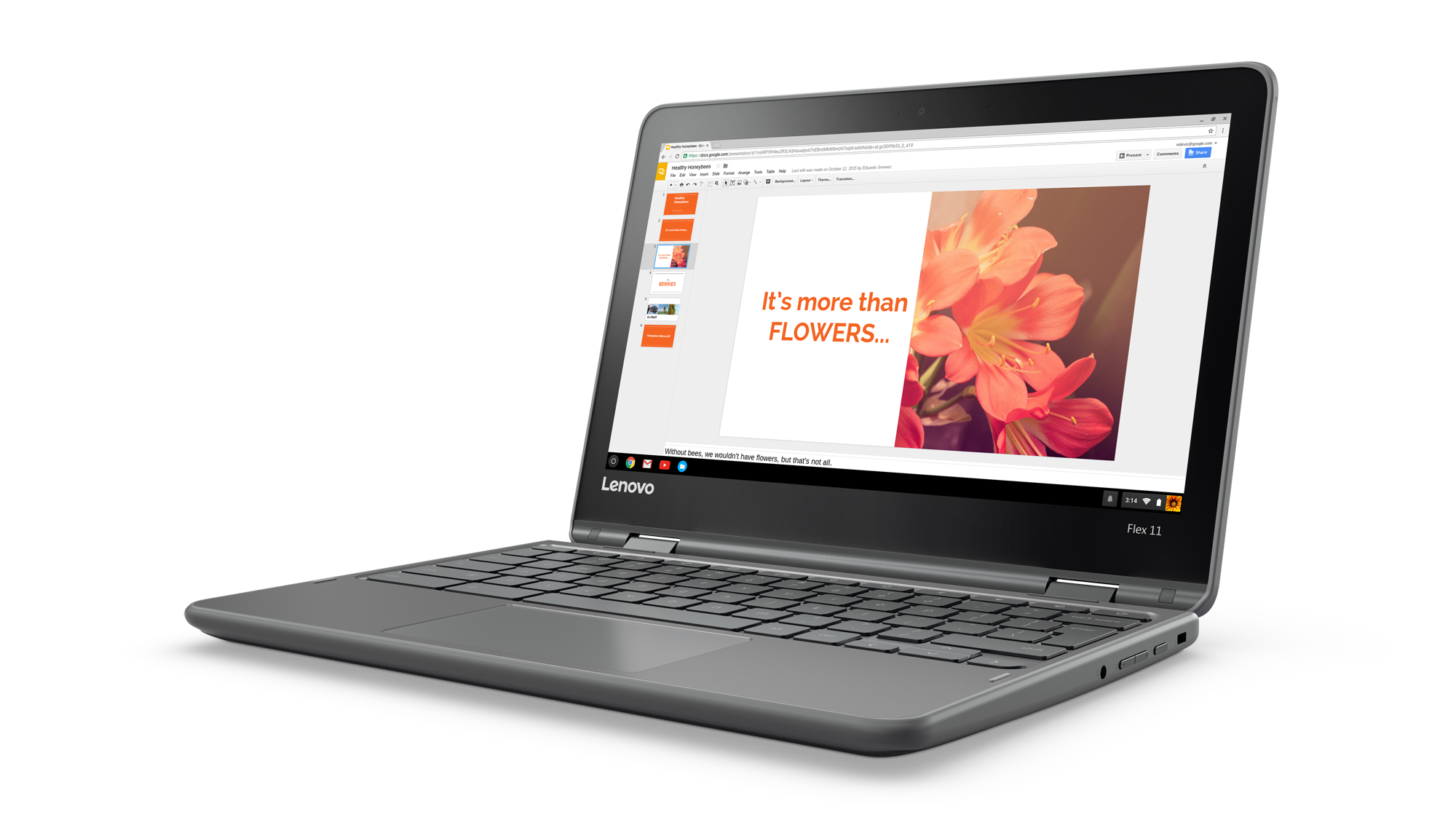 Lenovo Flex 11 Combines a Chromebook and a Tablet