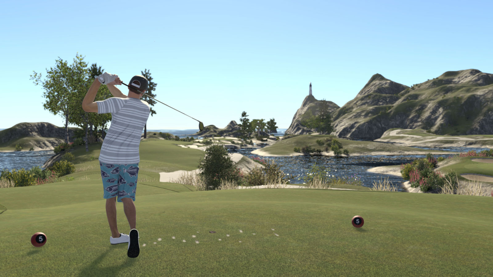 The Golf Club 2 - golfing by a lighthouse