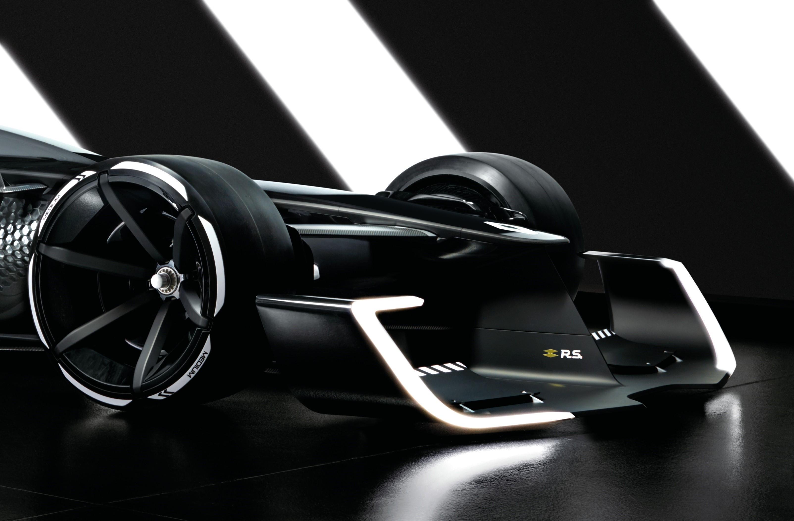 New Renault F Car