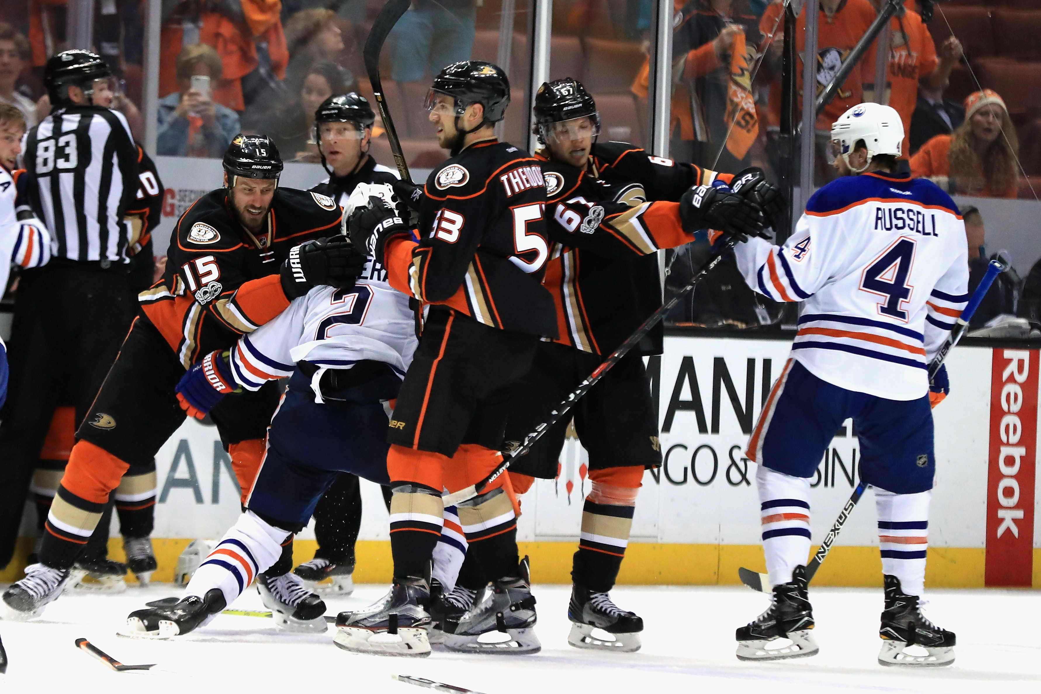 Draisaitl gives Oilers another weapon against Ducks