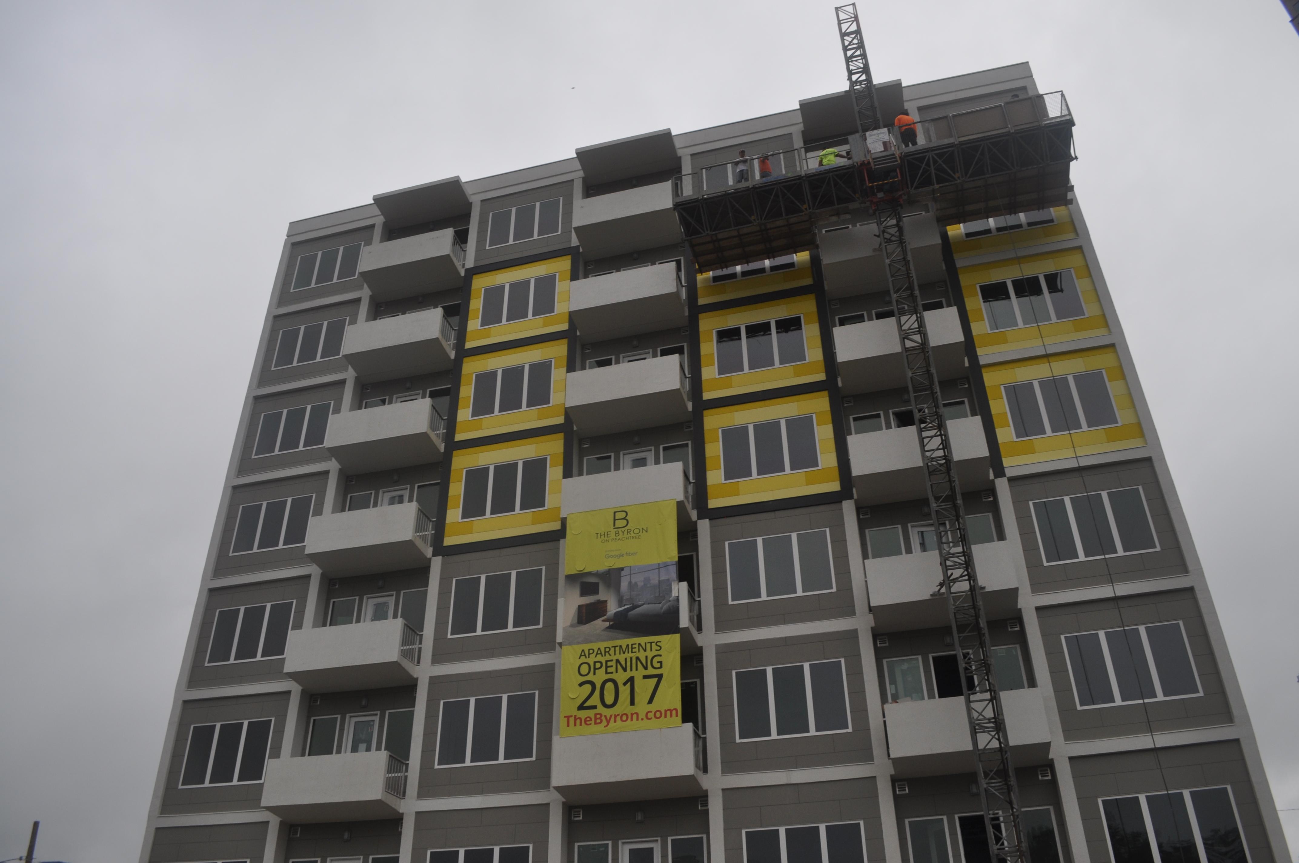 downtown atlanta apartment conversion heads toward summer