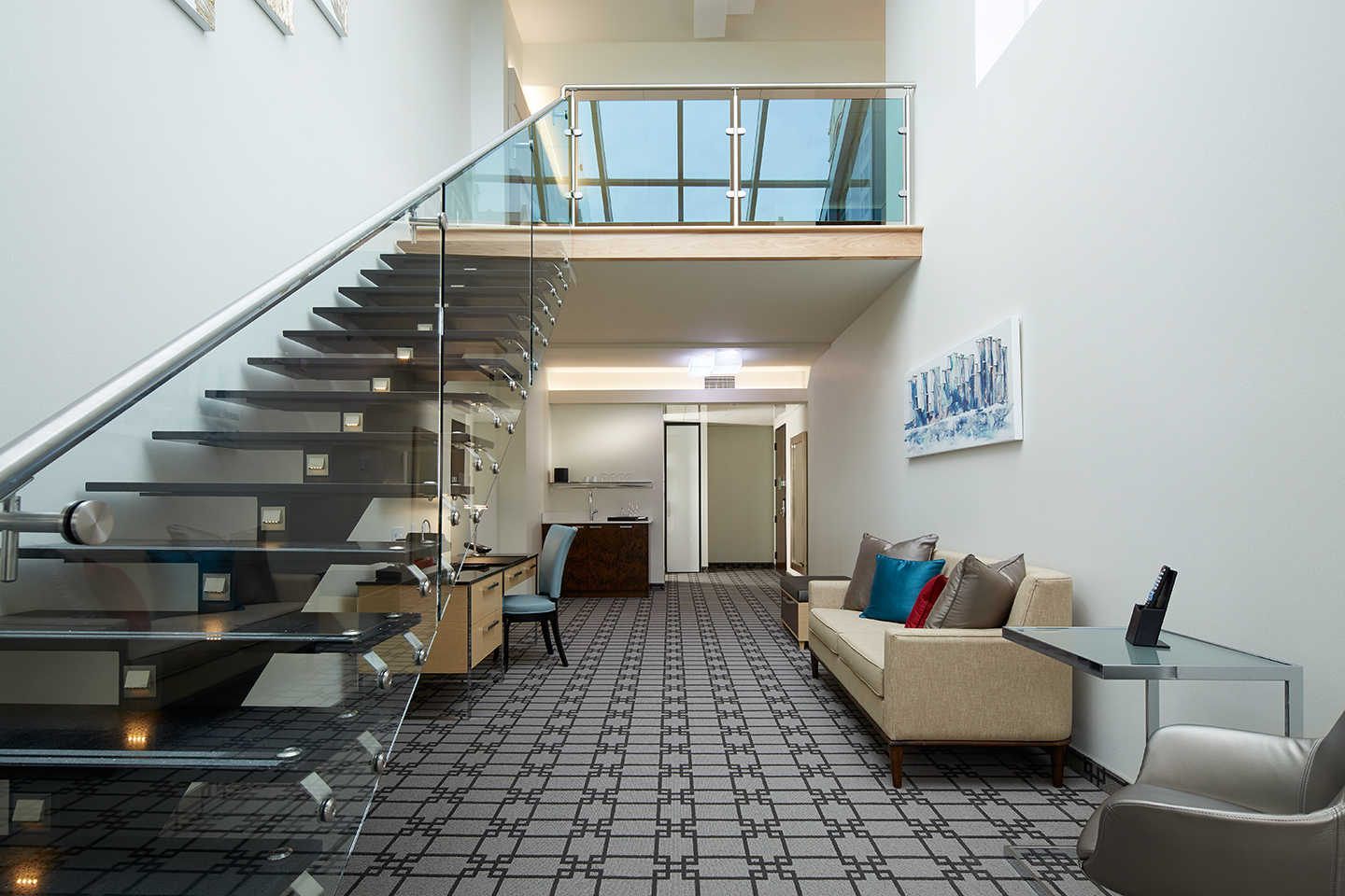 Skylofts 2 Bedroom Loft Suite Say Ahoy Hoy To Fancy Bar George Open Today Eater Montreal
