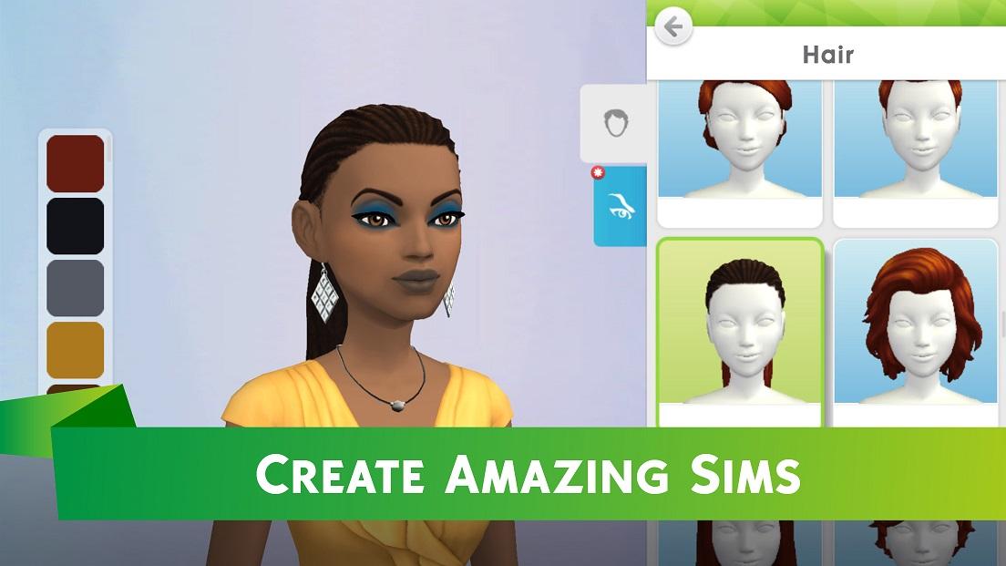 Dating sim character creator