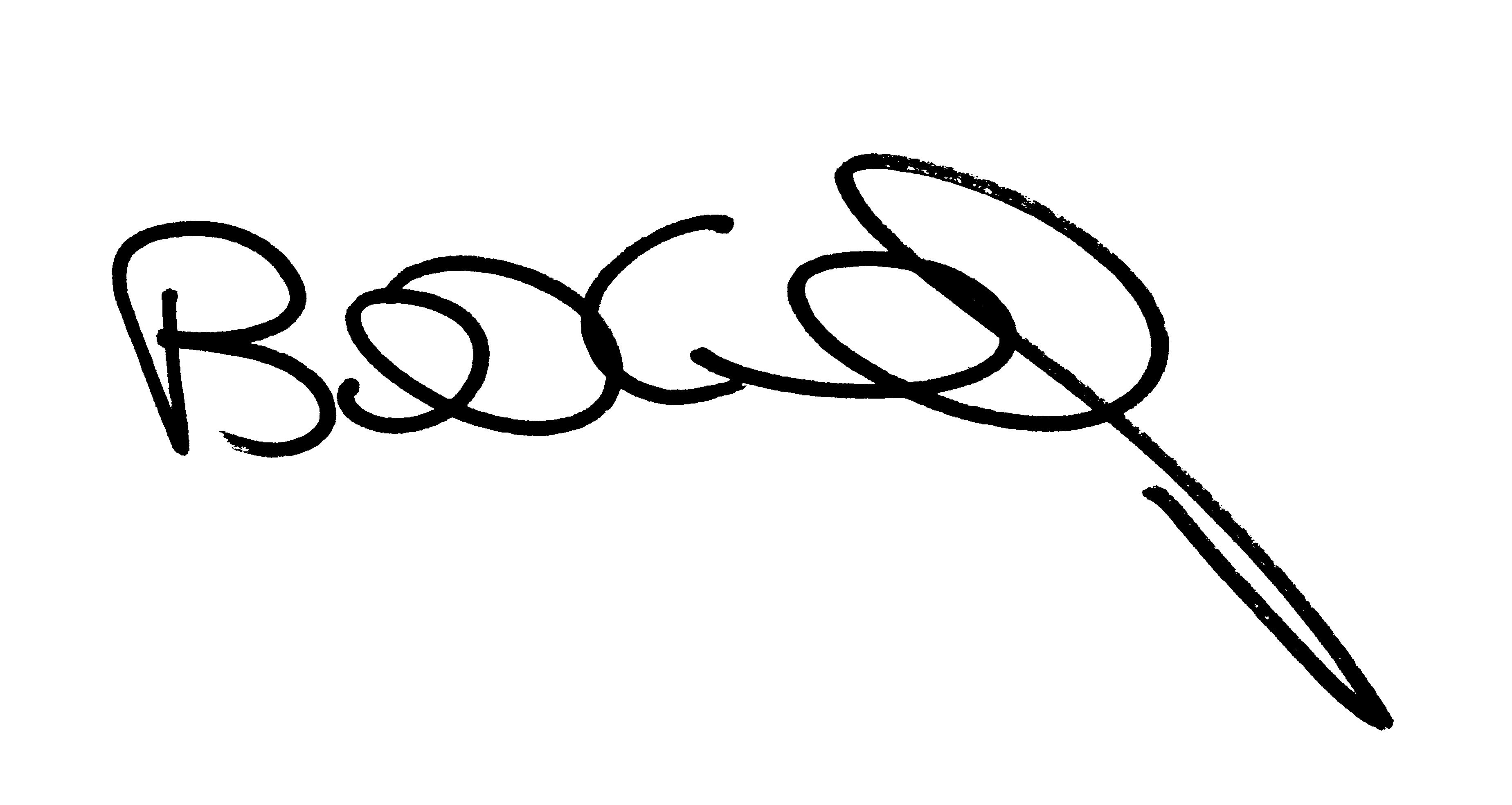 Bill Connelly Signature