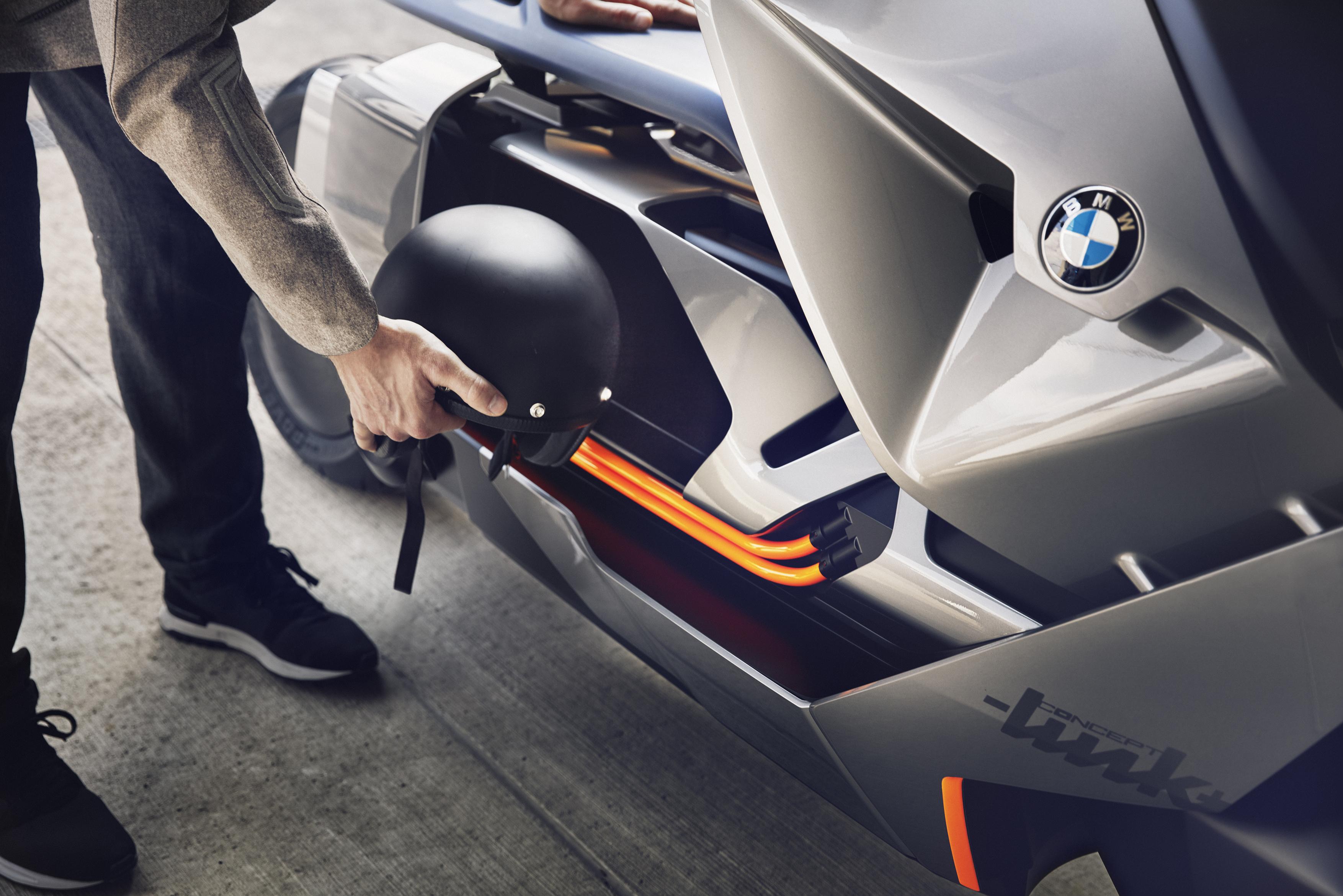 Bmw S New Concept Motorcycle Looks Like It Belongs In