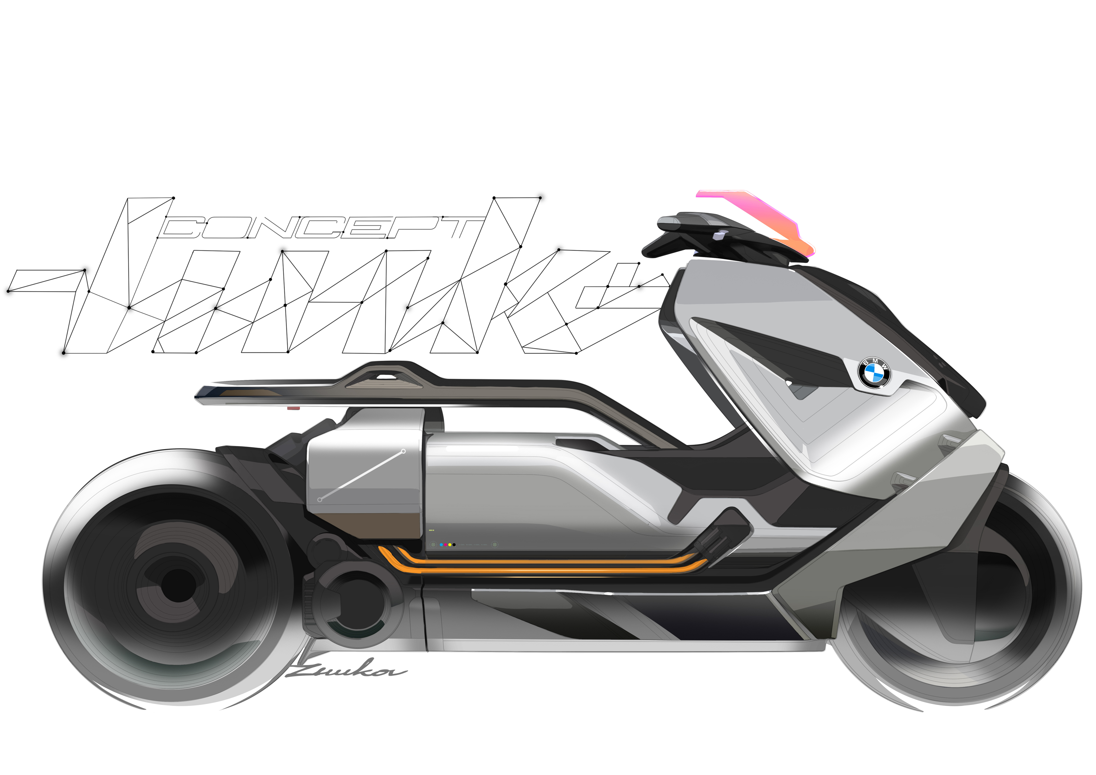 BMWs New Concept Motorcycle Looks Like It Belongs In