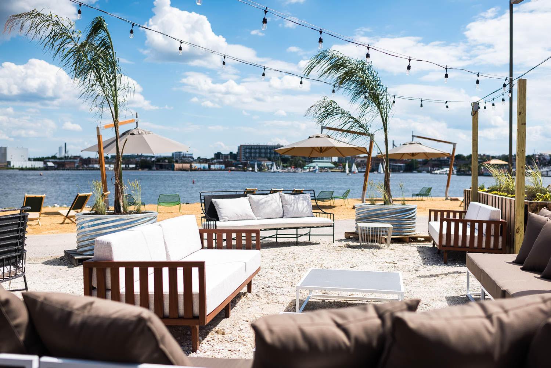 Spike Gjerdes Sandlot Brings Beach Dining To Baltimore Eater Dc