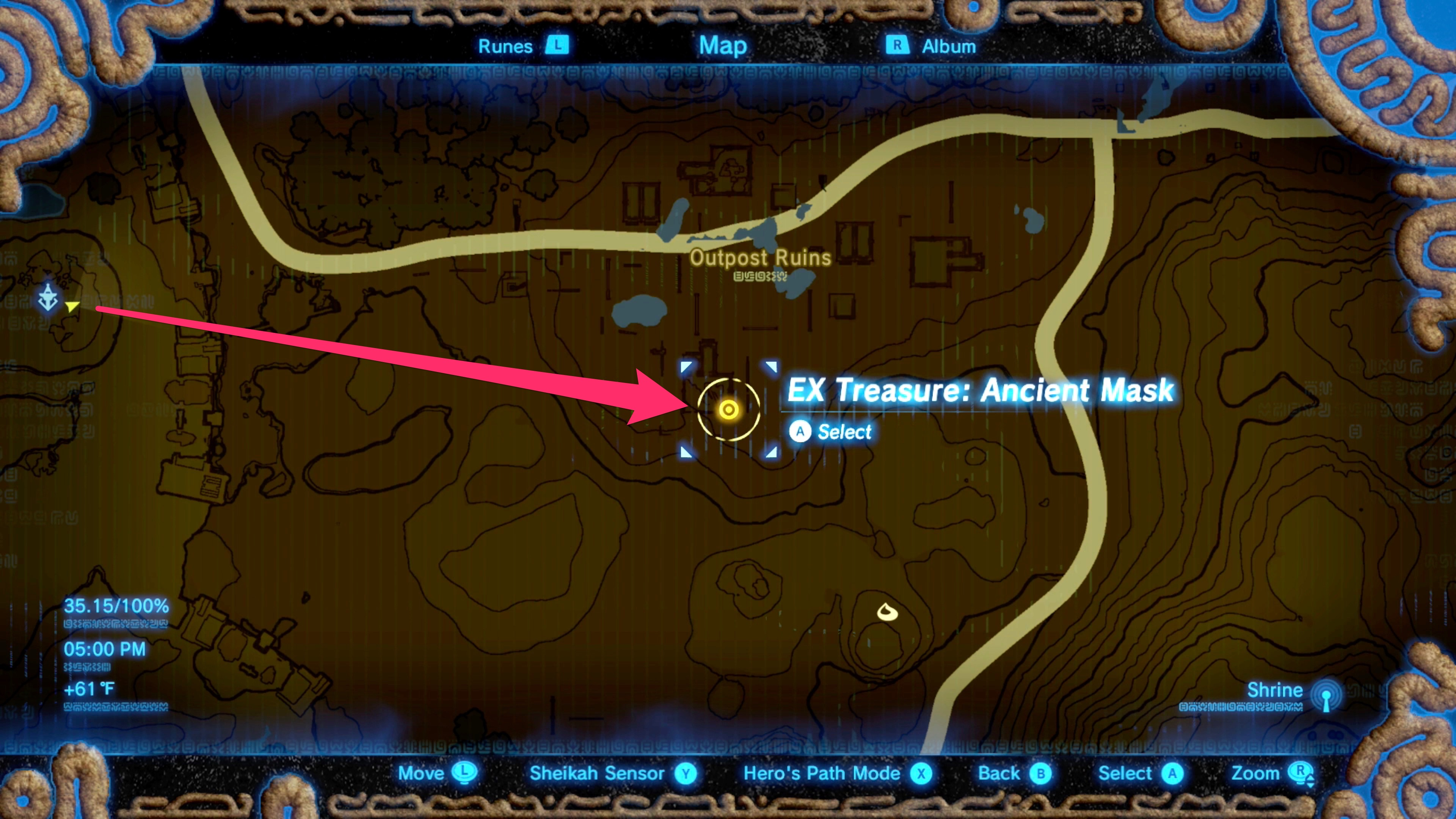 Zelda Breath Of The Wild Guide How To Find Tingle S Fairy Clothes In The Master Trials Dlc Polygon