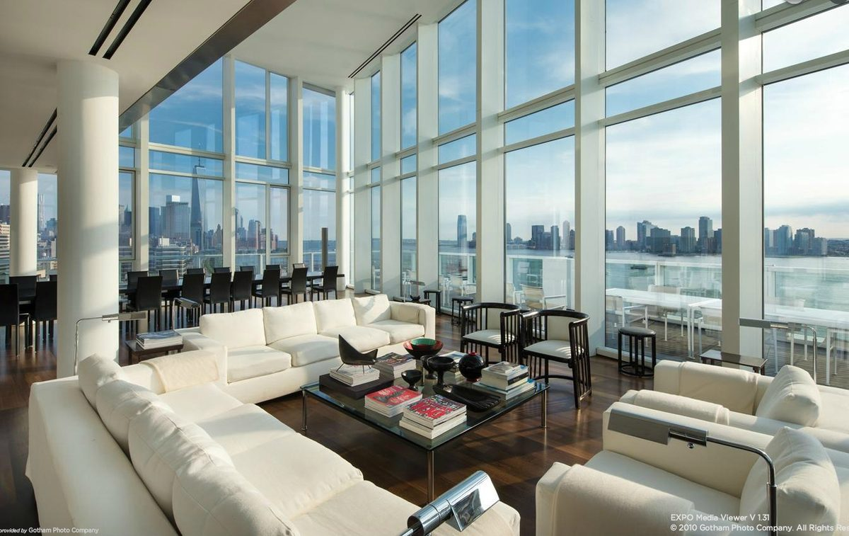 charles street curbed ny glassy penthouse at 165 charles street gets 5m price chop