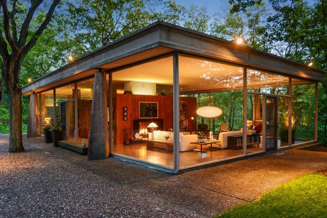 Midcentury modern curbed chicago - Mid century modern homes ...