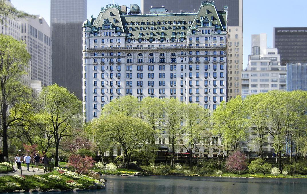 The plaza curbed ny for Most expensive hotel in nyc