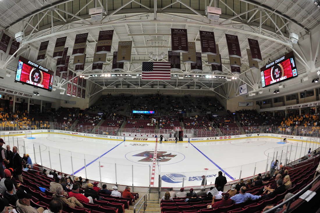 Hockey East: With BC Vs. BU Weekend Here, A Reminder That The Scheduling Of This Series Is Absurd