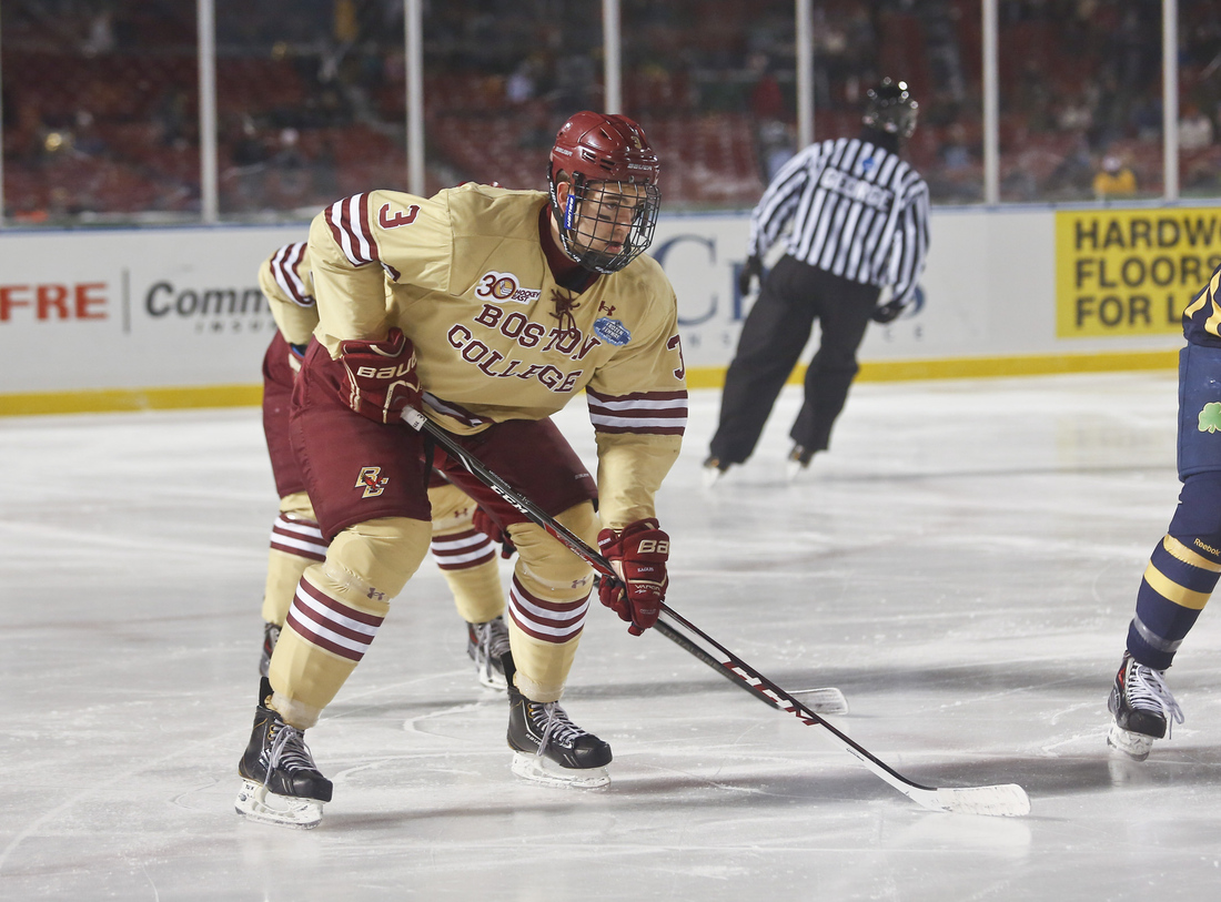 Hockey East: Defensemen - Top 10 NHL Prospects