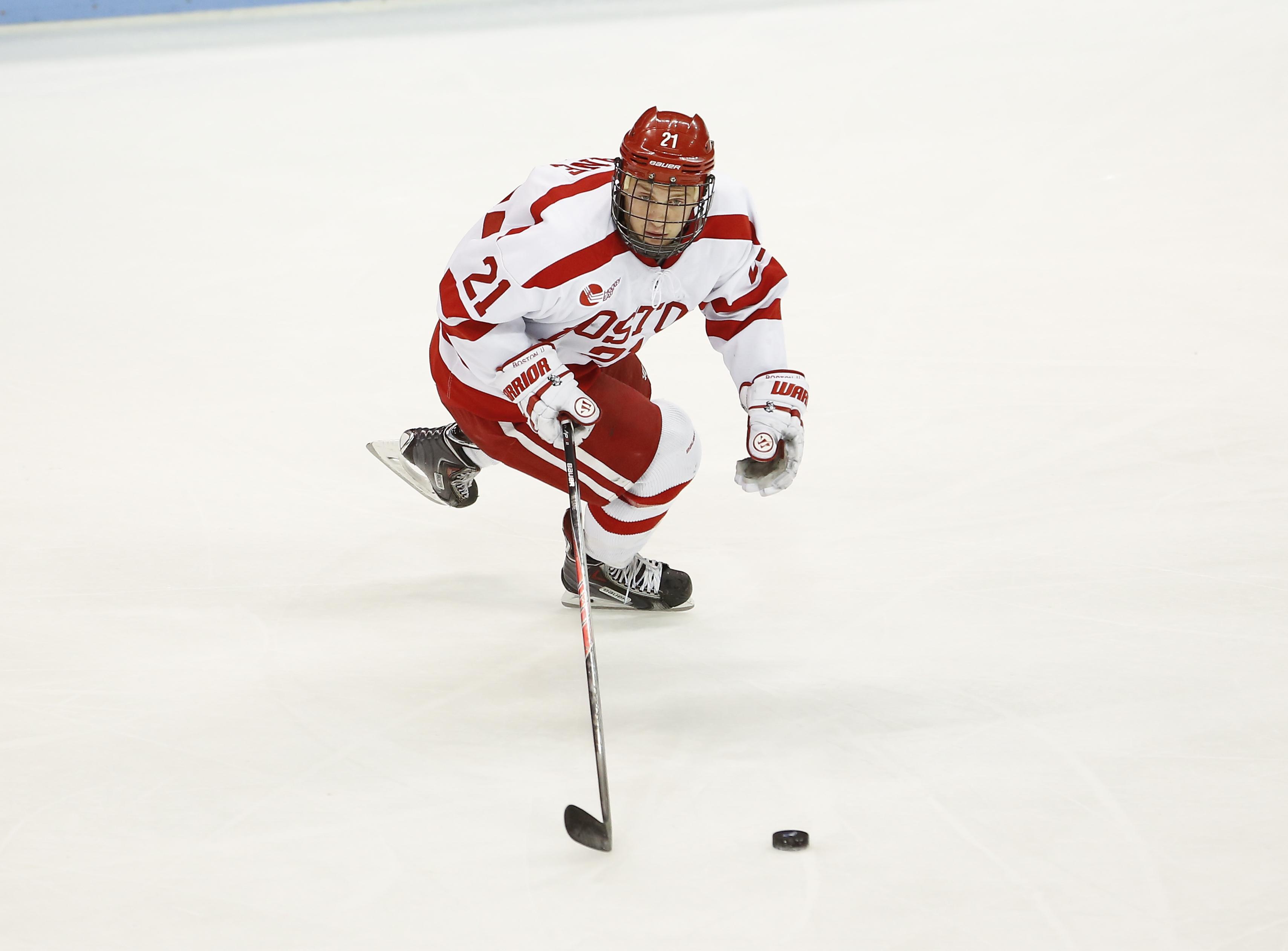 Hockey East: BU Tops Merrimack In Final Beanpot Tuneup, 4-0