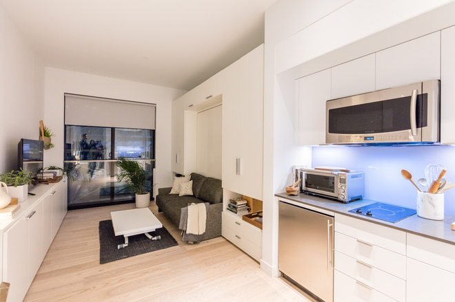Nyc micro apartments curbed ny for Micro living apartment