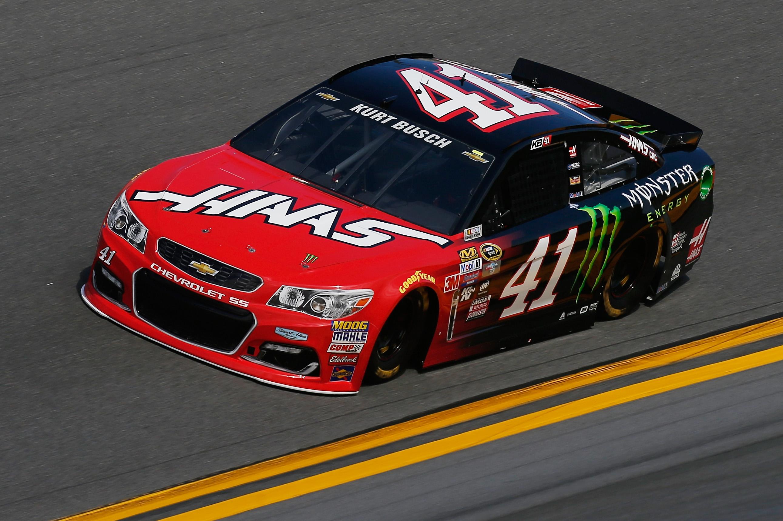 Race Car Driver Busch