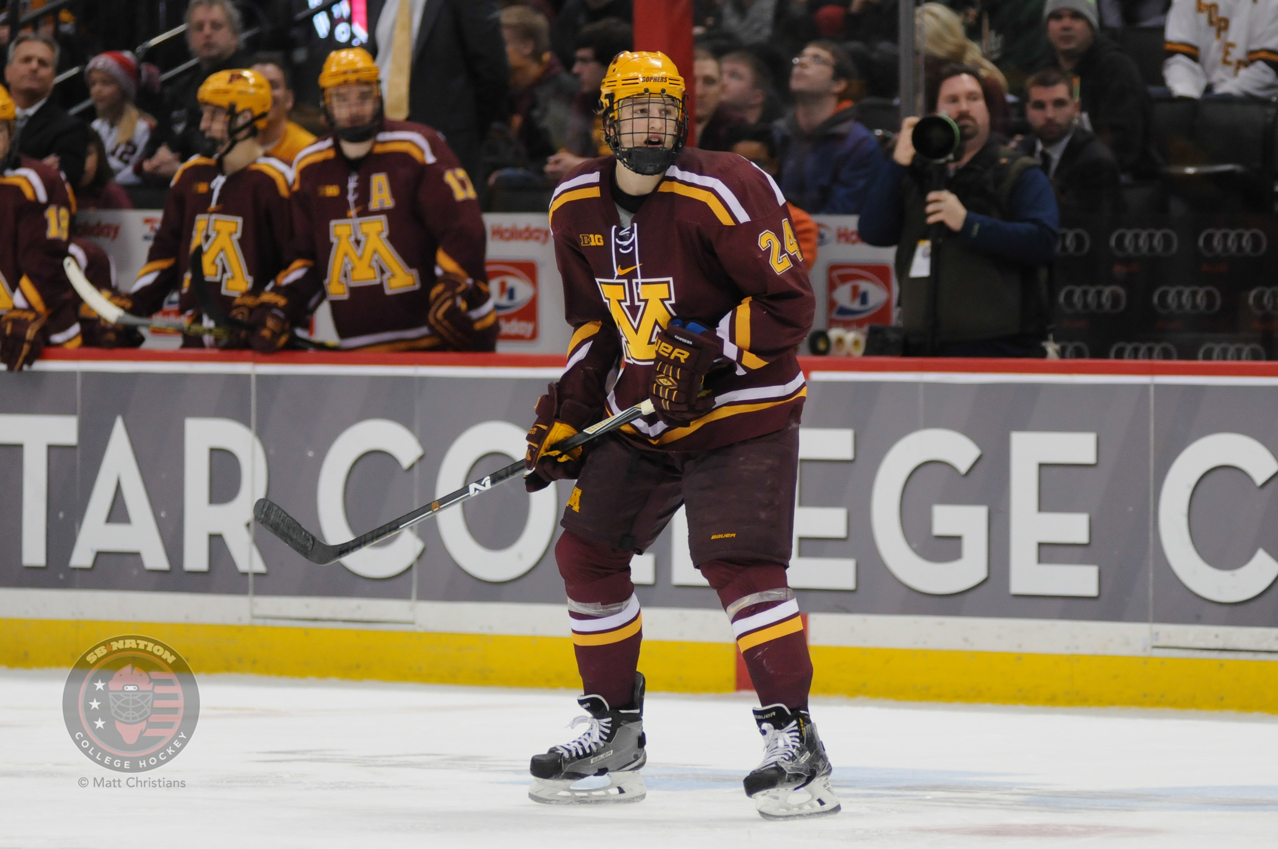 BIG10: Fasching's OT Blast Puts Minnesota Back Atop Table