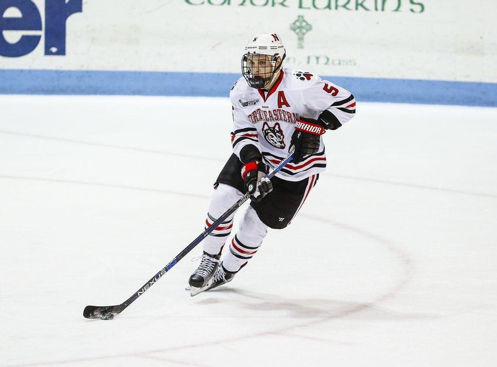 Hockey East: NU Completes Maine Sweep To End Regular Season, 7-1