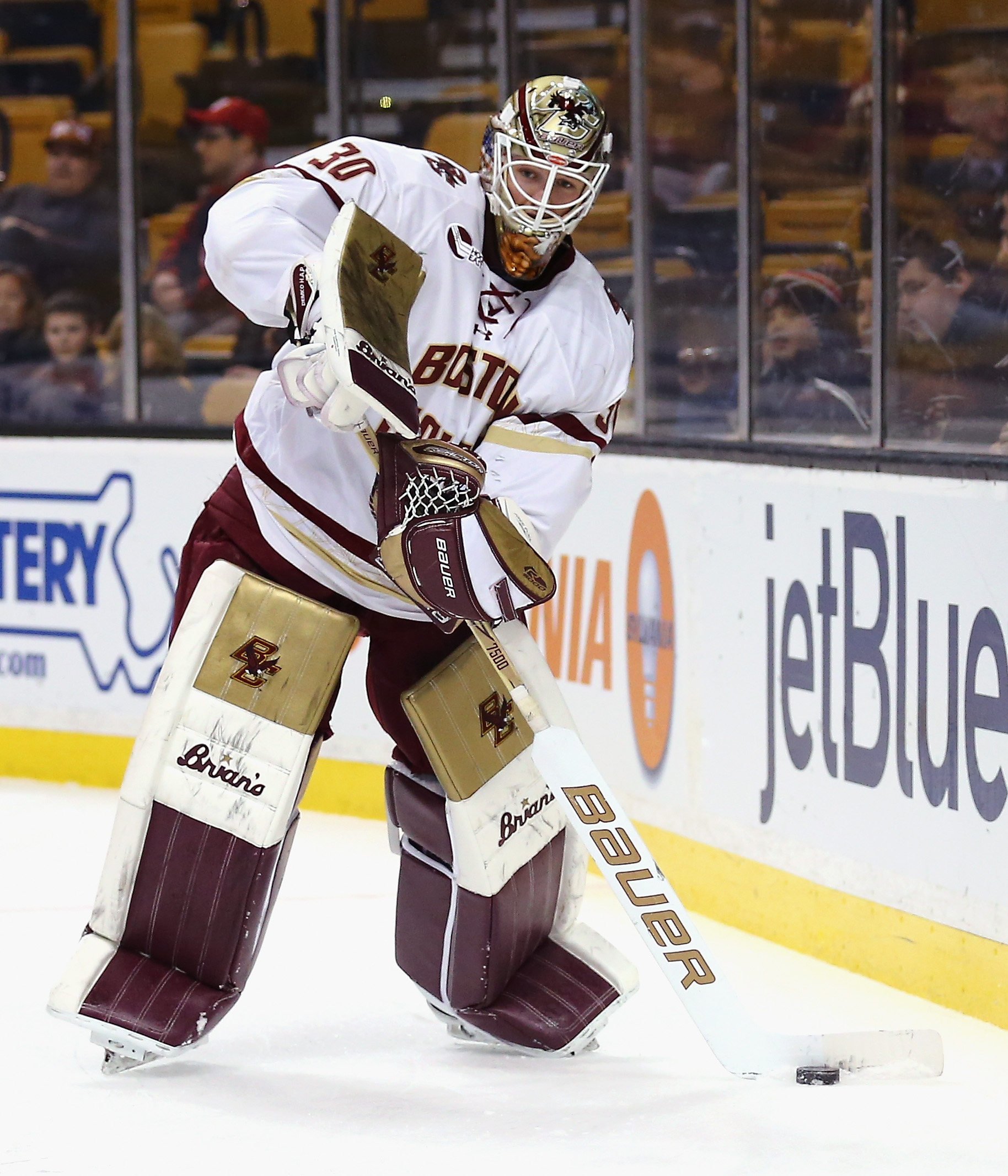 Hockey East: Demko, Fellow Juniors Lead BC To QF-opening Win