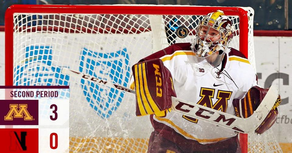 BIG10: Gopher Scherhorn Named Conference Goalie Of The Year