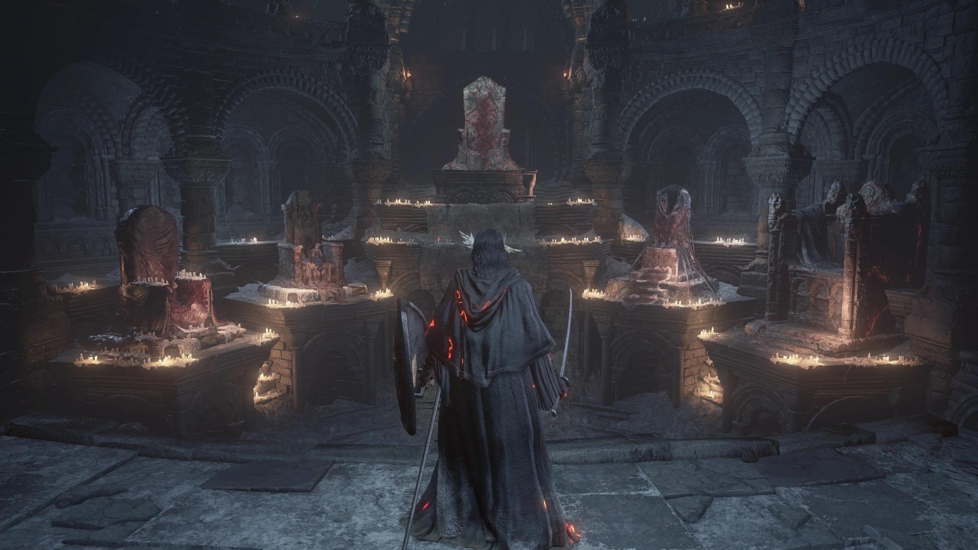 Dark Souls 3 Firelink Shrine Walkthrough Polygon