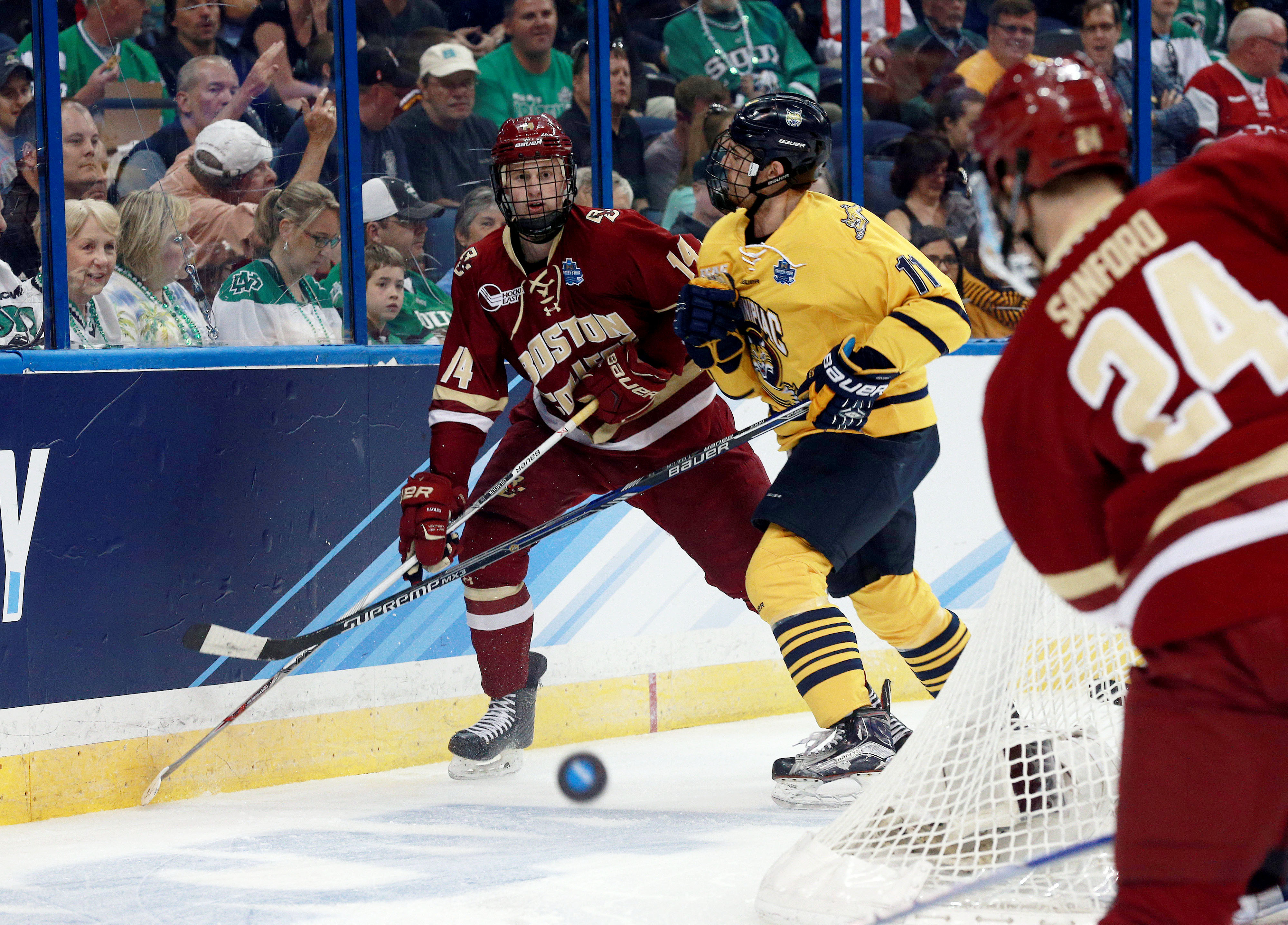 Hockey East: BC's Adam Gilmour Signs With Wild