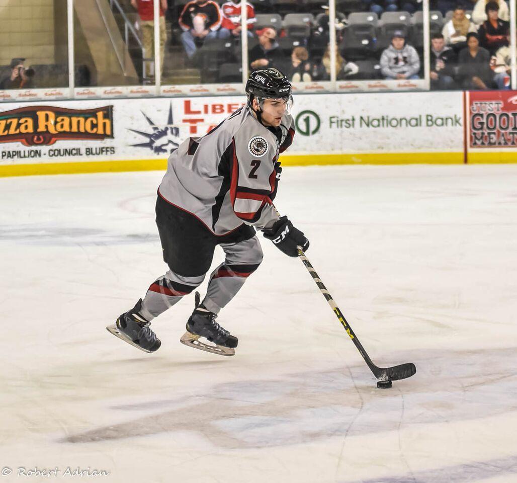 USHL: 2016 NHL Draft Prospect Profile - Mitch Eliot