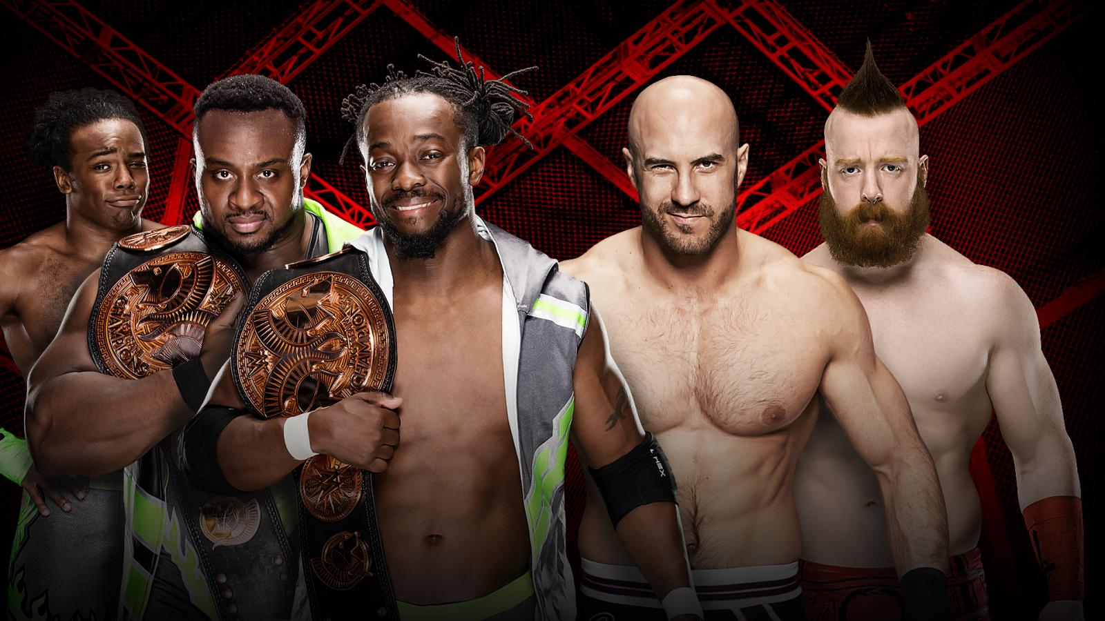 Image result for hell in a cell 2016 NEW Day
