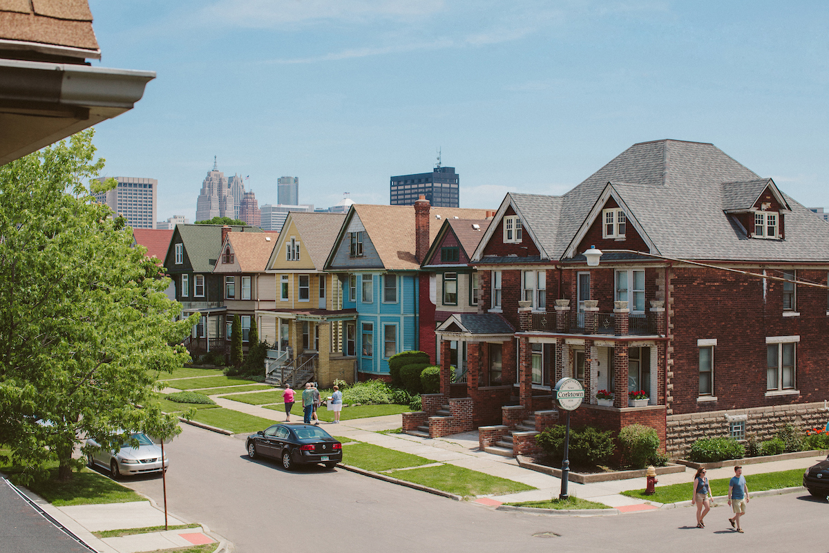 New Homes In Downtown Detroit