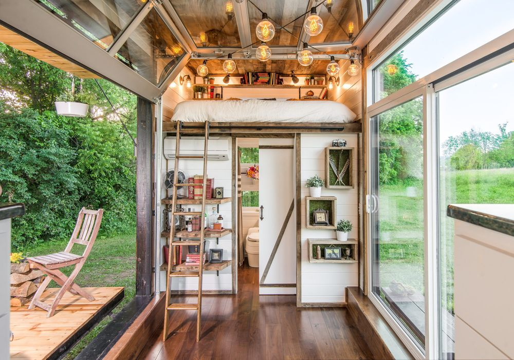 Enjoyable Tiny Homes Curbed Largest Home Design Picture Inspirations Pitcheantrous