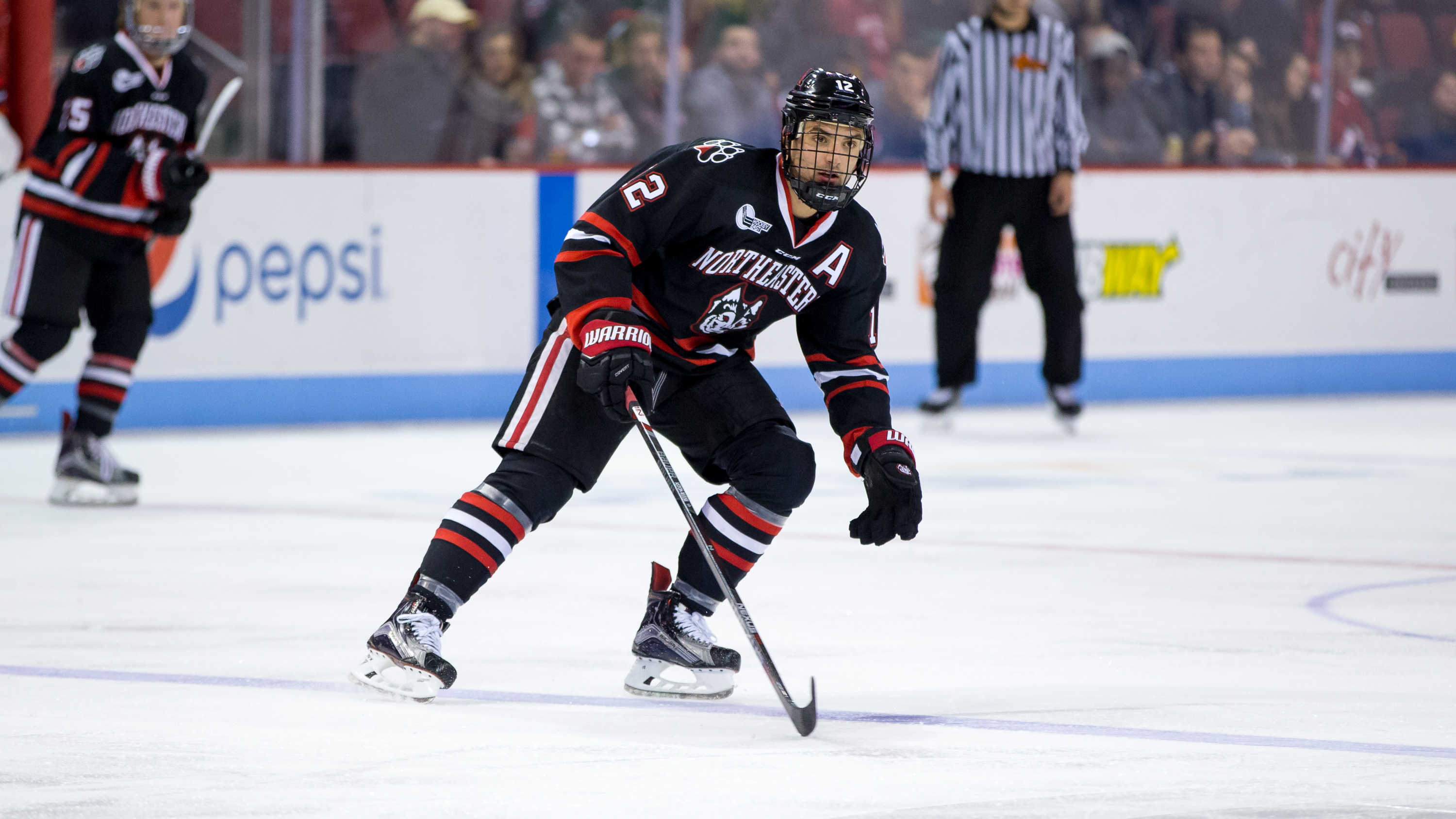 Hockey East: Northeastern's Aston-Reese Developing Into Top NHL Free Agent Target