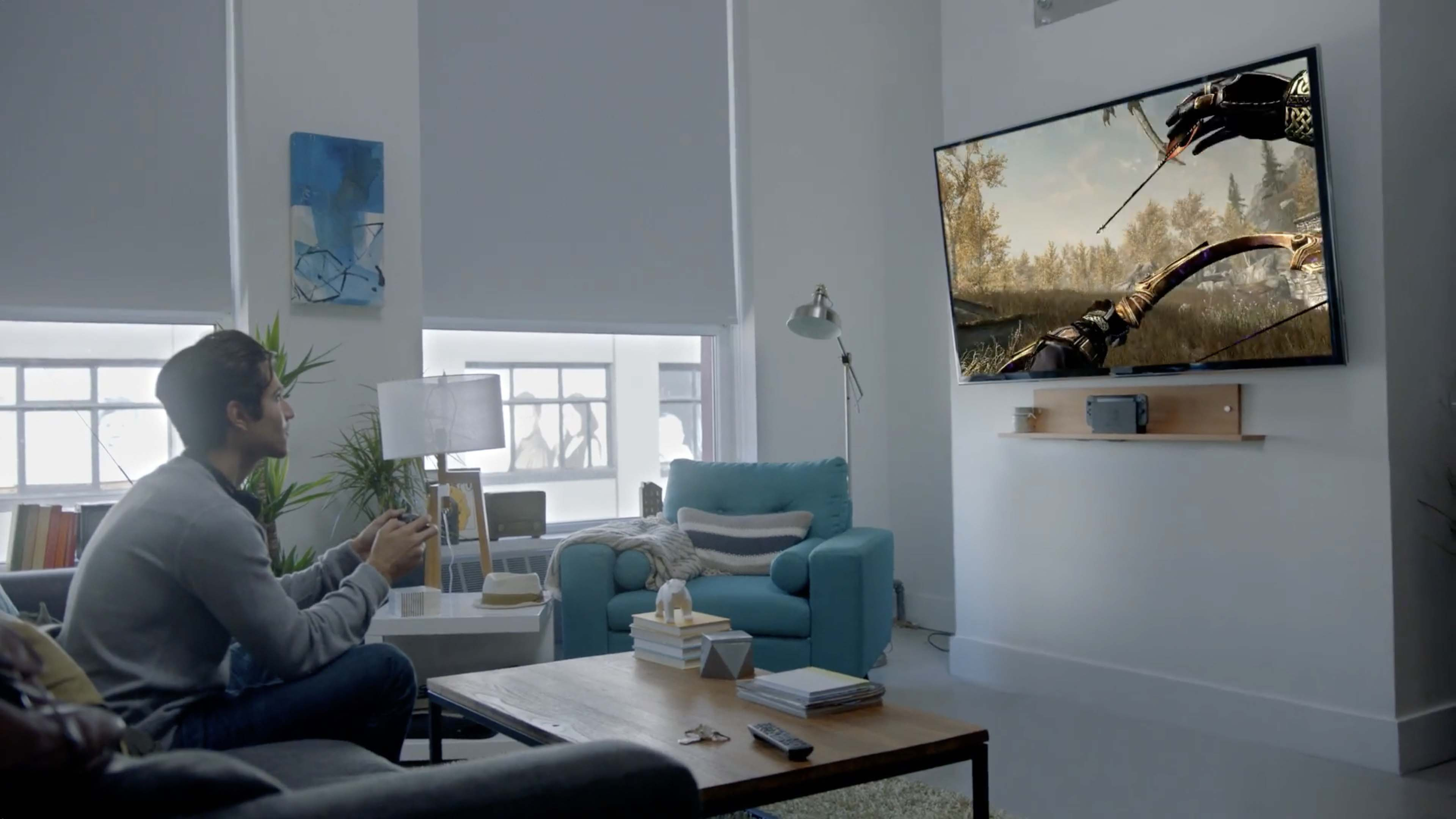 Breath Of The Wild Living Room