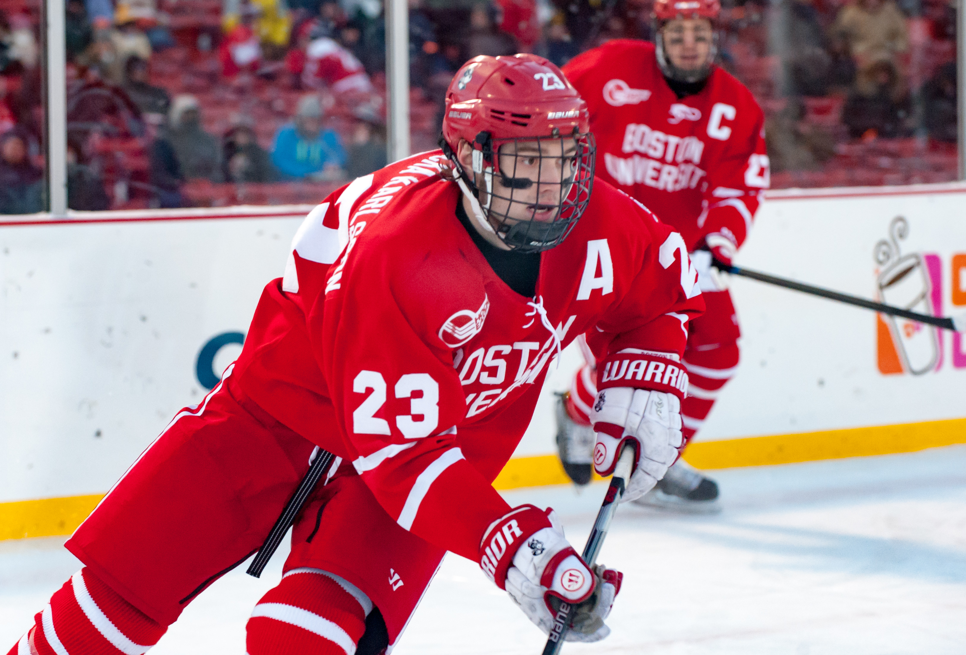 Hockey East: JFK Keeps It Going For Terriers
