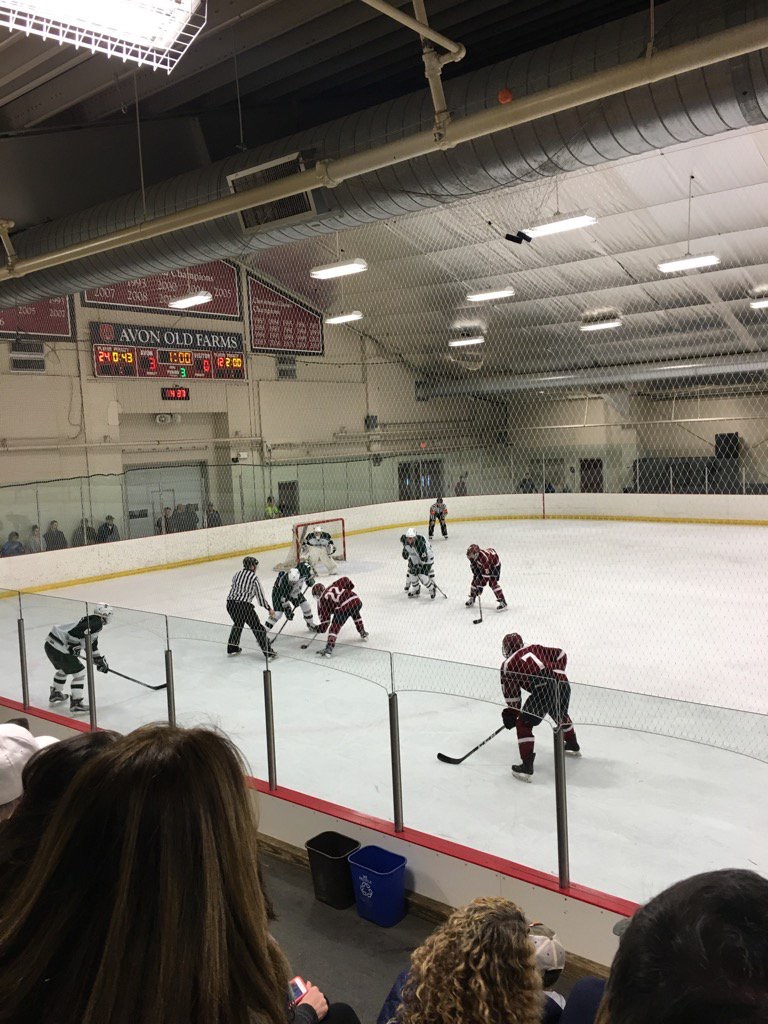 MA H.S.: Prep Hockey Game Report - Berkshire At Avon Old Farms