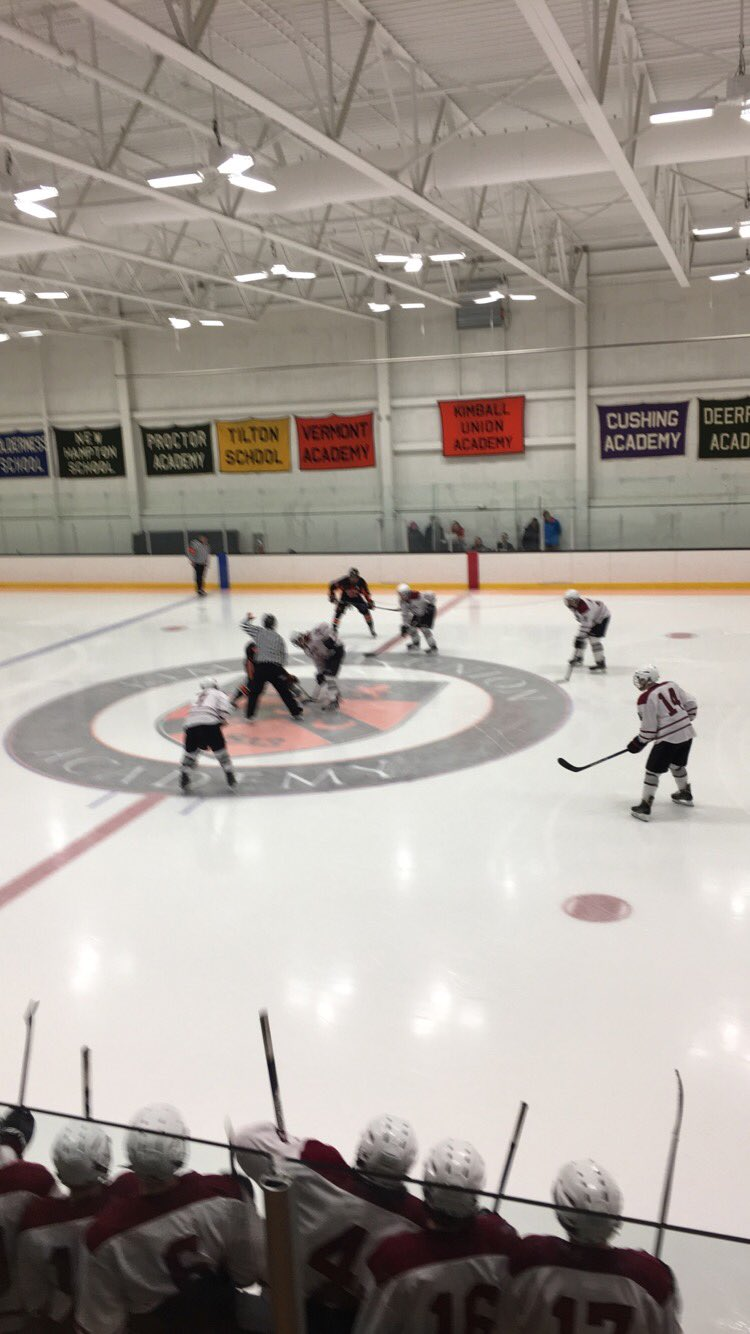 Prep Hockey Game Report - Exeter At Kimball Union