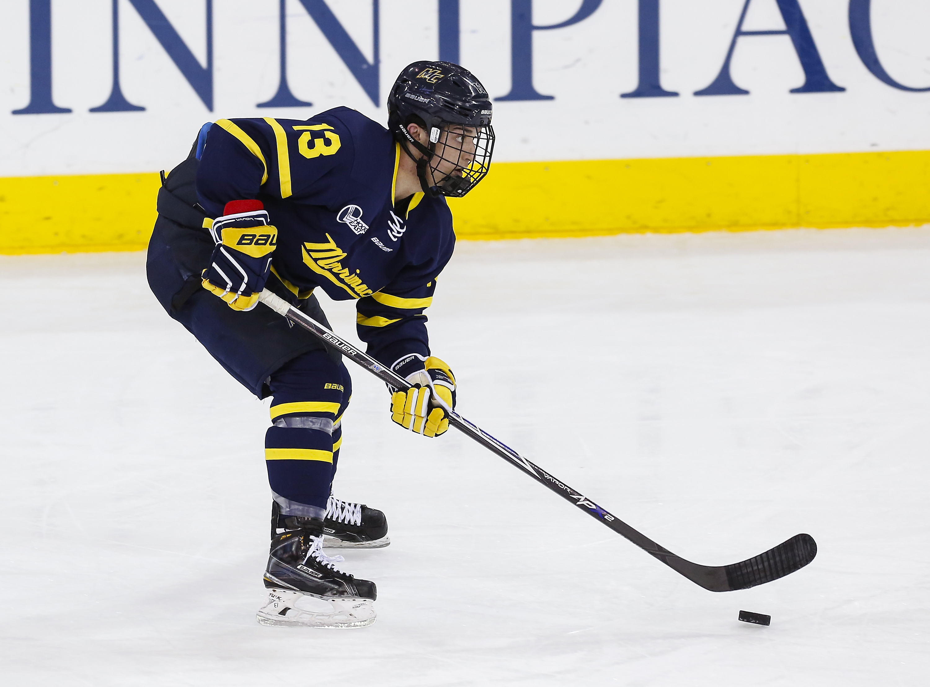 Hockey East: Merrimack Completes First-Ever Sweep Of BU, 4-1