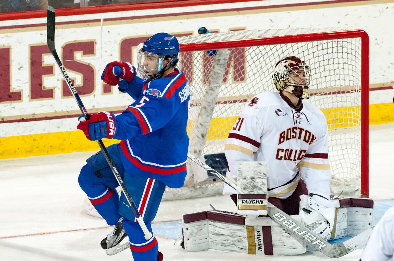 Hockey East: Top Line Powers UMass Lowell Past Boston College