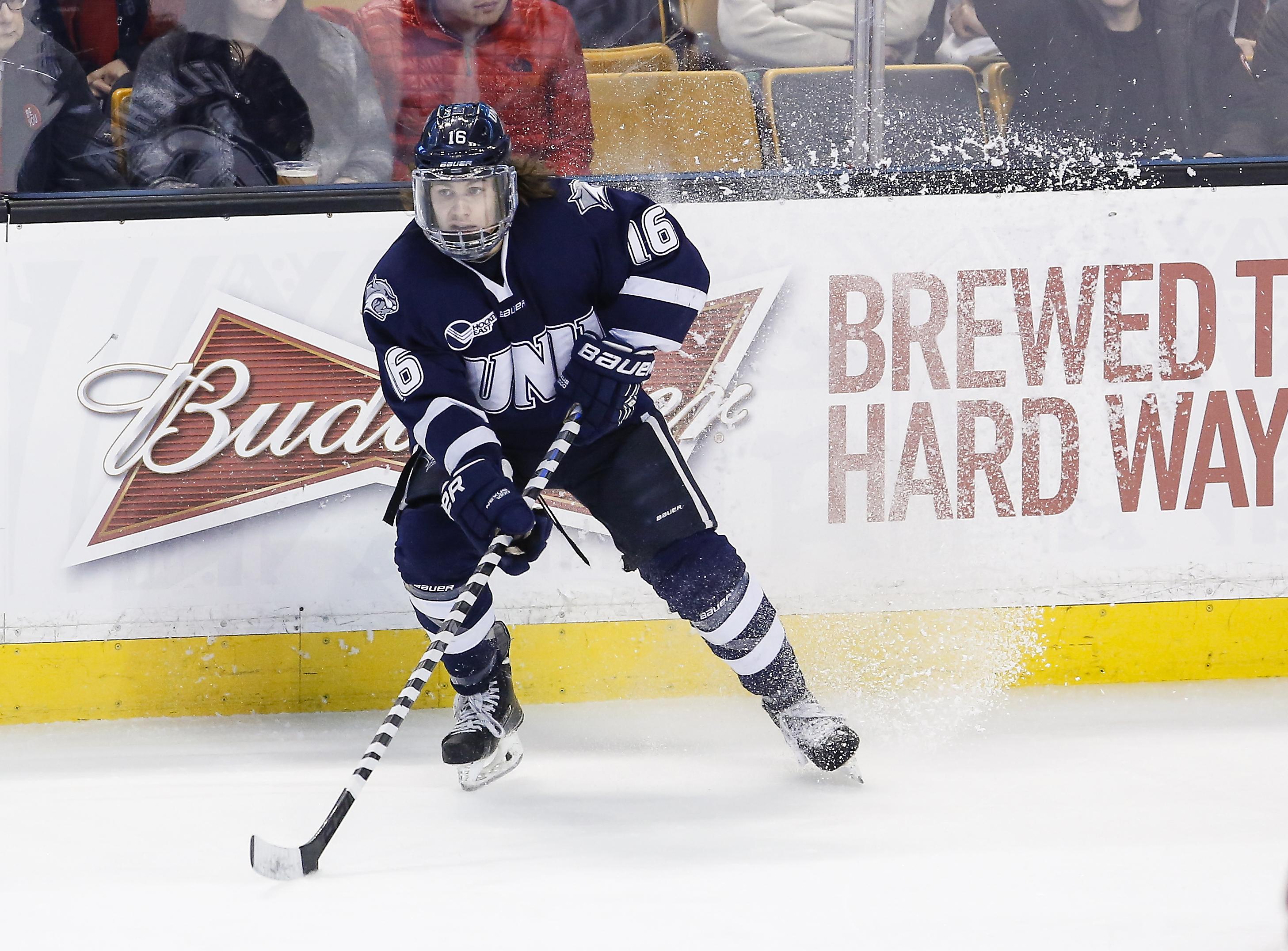 Hockey East: Hockey Sense Sparks Offense For UNH's Kelleher