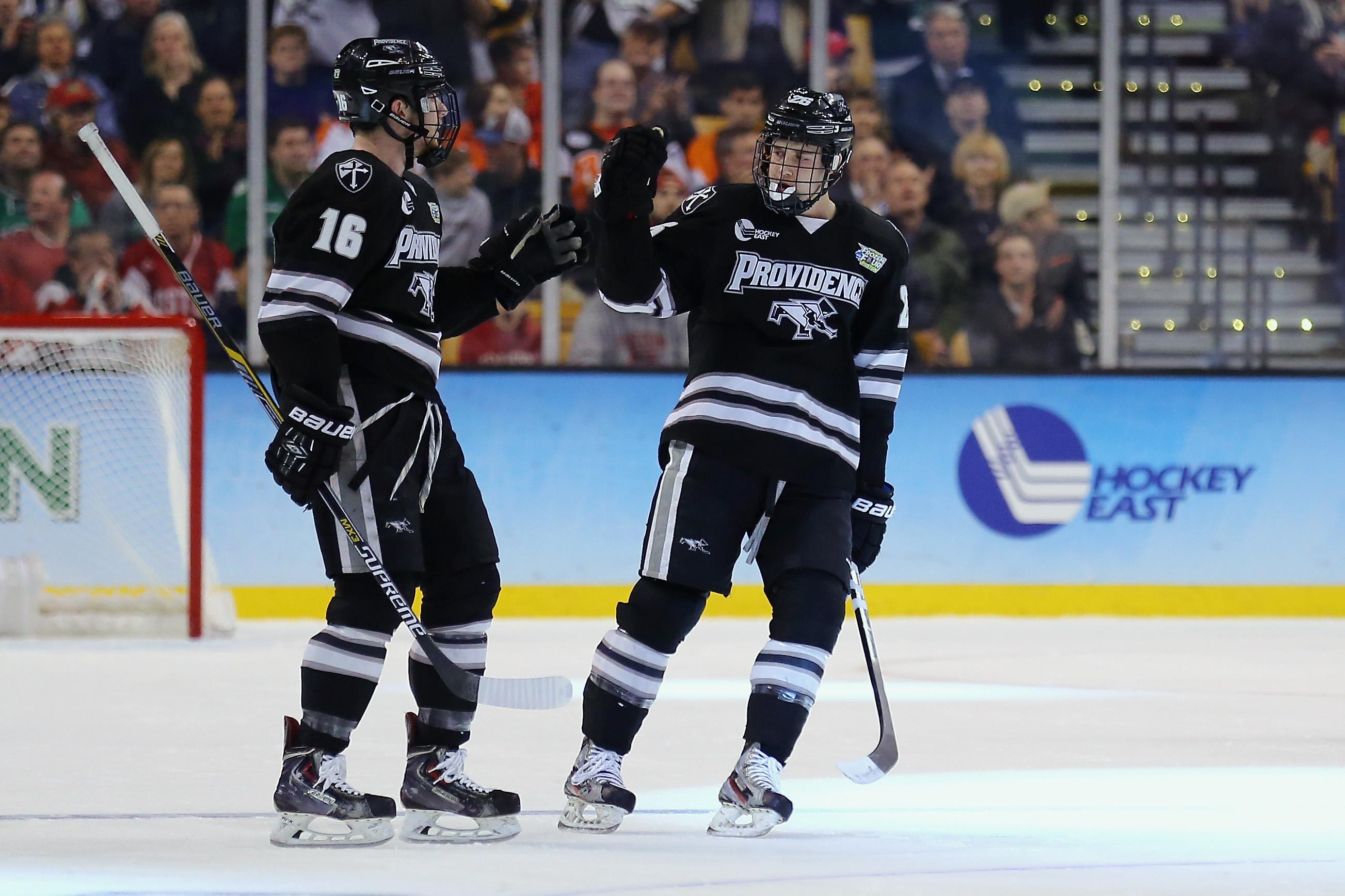 Hockey East: Pinho's Development Keys Second Half Surge For Friars