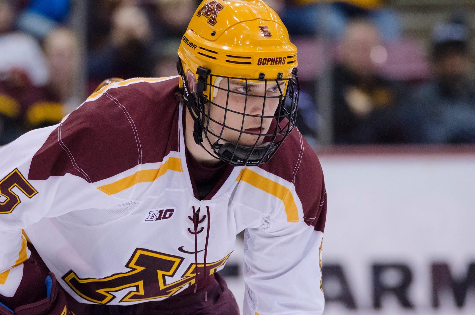 BIG10: Lindgren Officially Out For Season