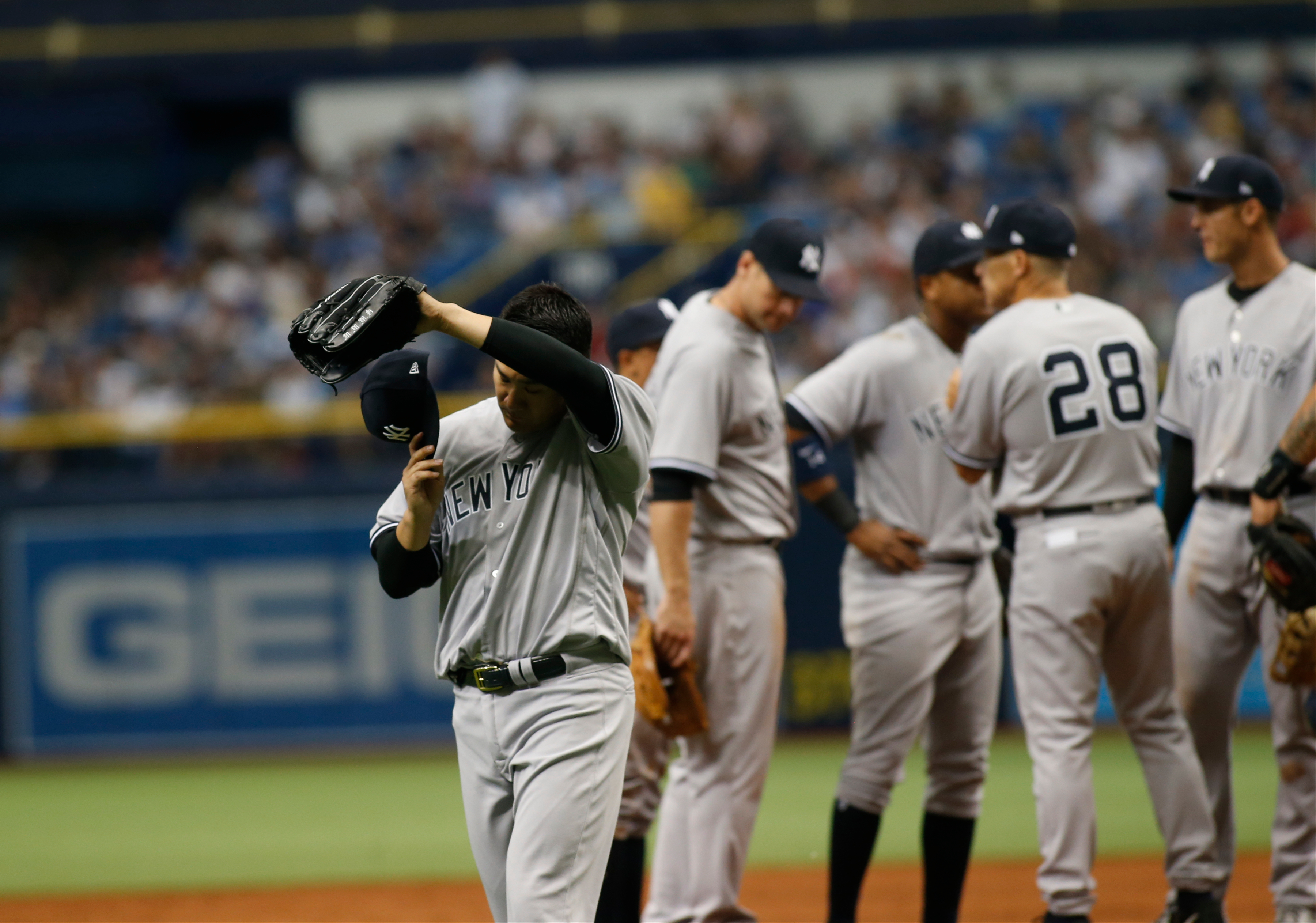 fdc38c60a The Yankees had the best record in baseball in Spring Training  24-9. The  hitters were hitting well
