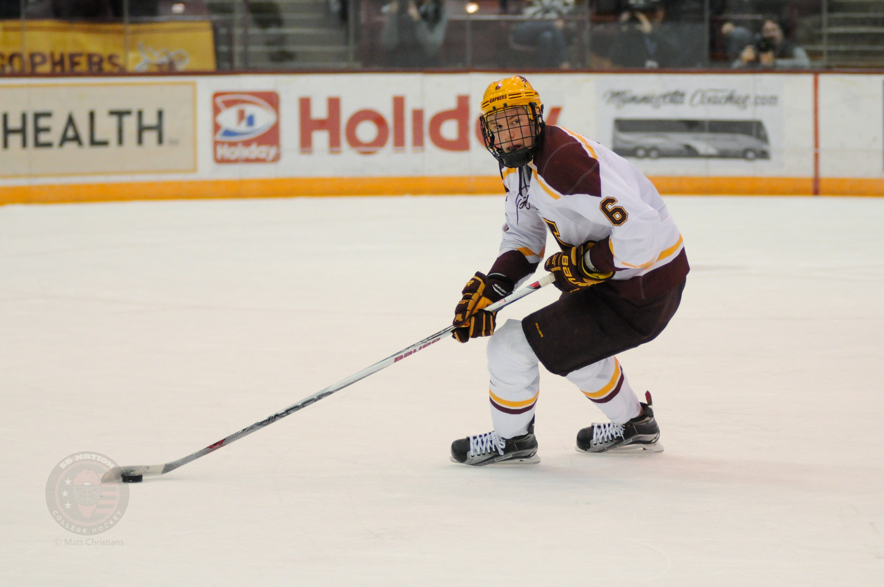 BIG10: Gophers Ryan Collins Signs With Columbus