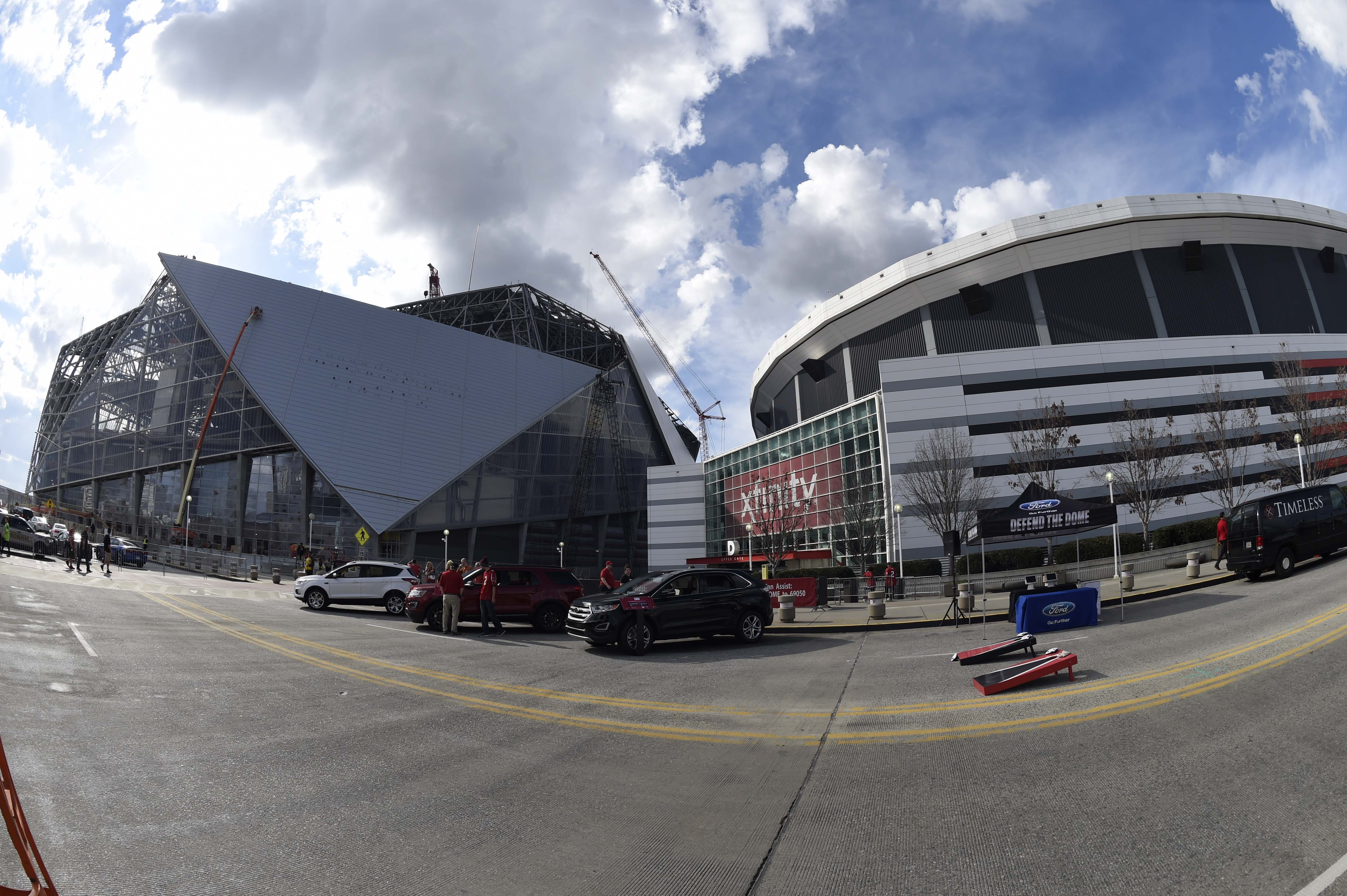 With interior linemen hitting free agency in 2018 the for Mercedes benz dome in atlanta