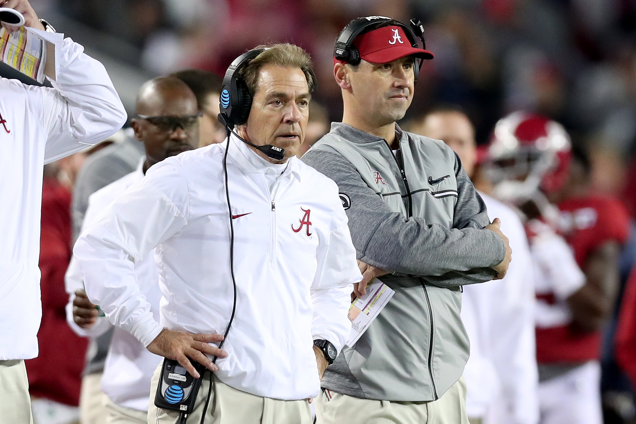 buffalo every day should be saturday never forget the oddest couple of all nick saban and lane kiffin coexisted for three years all peace and reconciliation is possible