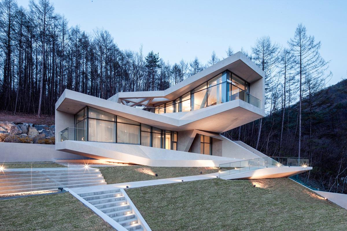 Concrete Homes Curbed - Prefabricated concrete homes designs