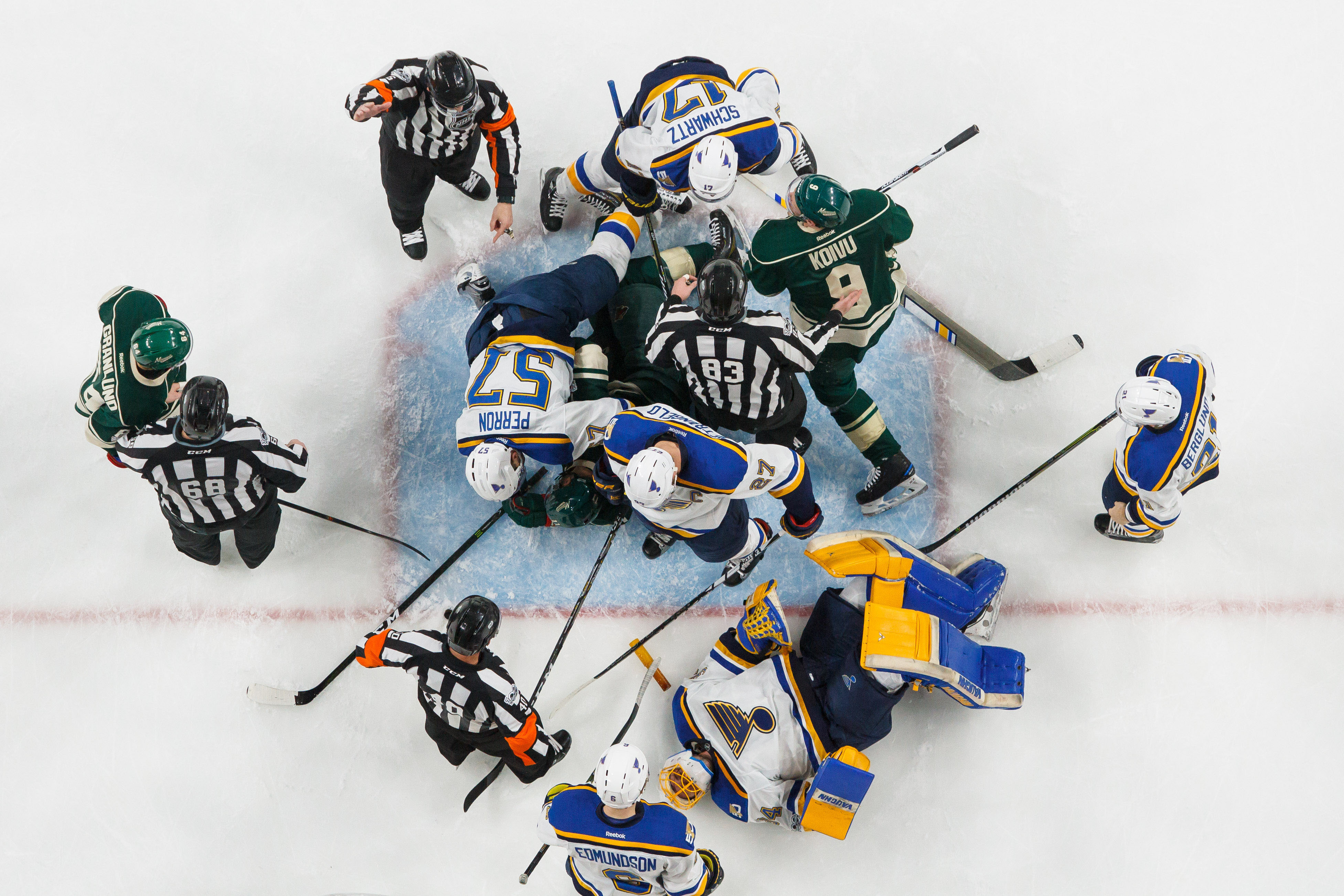 blues push wild to brink of elimination win in game  the minnesota wild have no time to play the blame game despite a demand for scapegoats the minnesota wild should keep a clear head as to why they lost