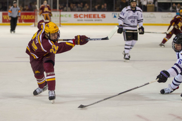 BIG10: Minnesota Tyler Sheehy Named Captain For 2017-18 Season